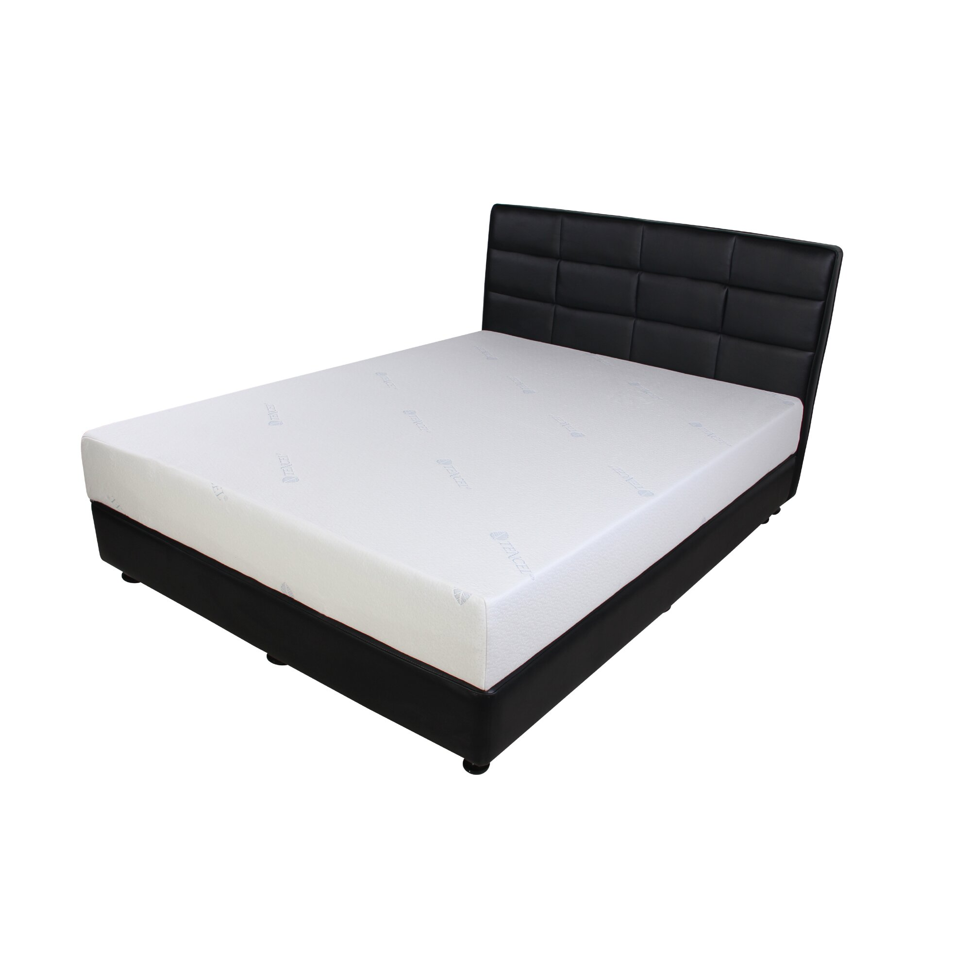 Designed To Sleep Cool Tencel 8 Gel Memory Foam Mattress Reviews Wayfair