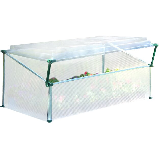 Palram 3.5 Ft. W X 2 Ft. D Cold Frame Greenhouse & Reviews