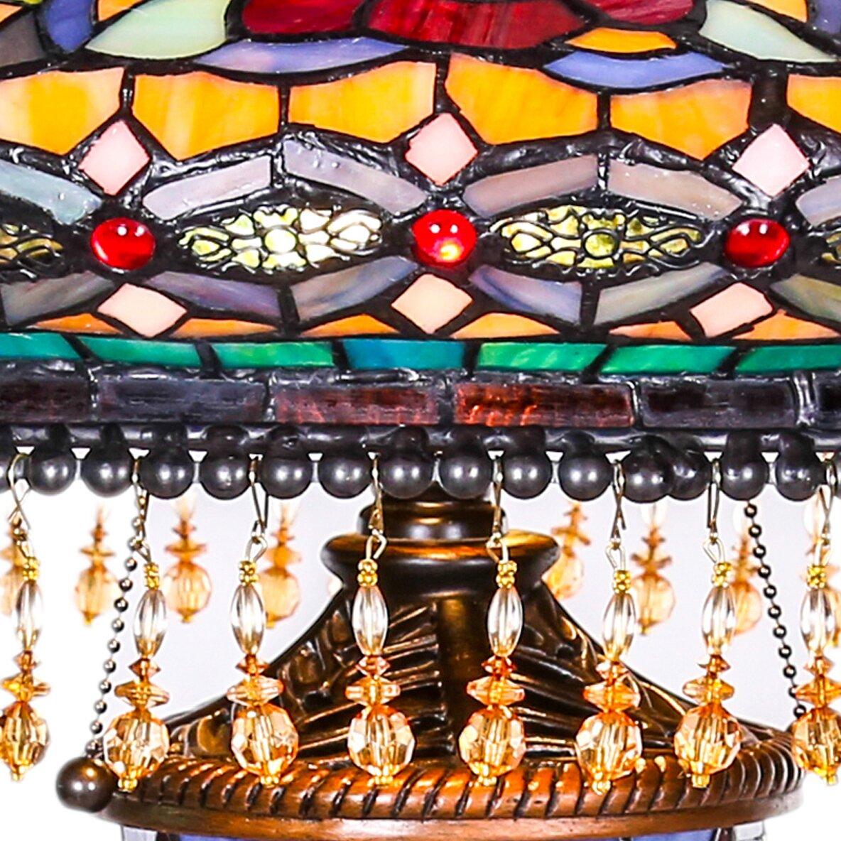 River Of Goods Parisian Double Lit Tiffany 27 5 Quot Table