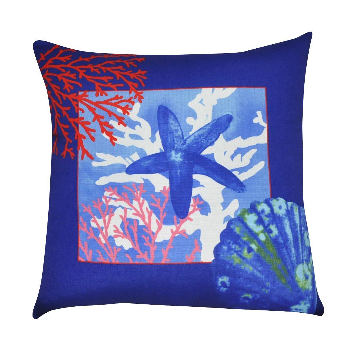 Loom and Mill Sea Life Decorative Throw Pillow Wayfair