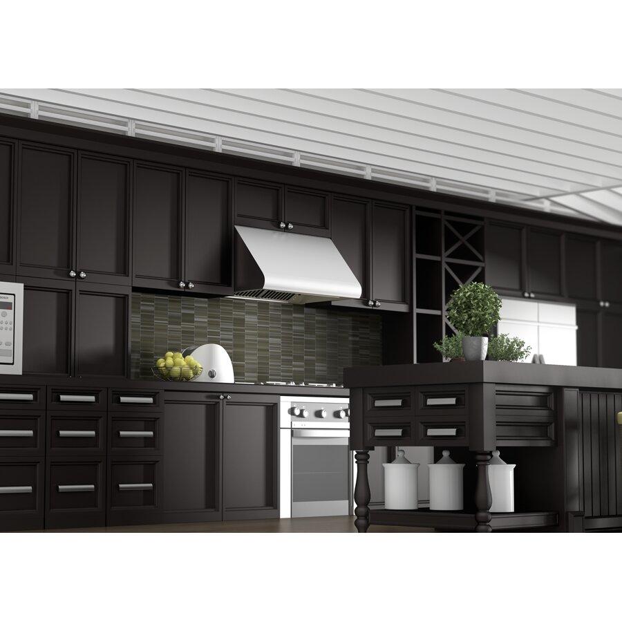 "Kitchen Cabinet Lines: Z Line Kitchen 30"" 1200 CFM Under Cabinet Range Hood"
