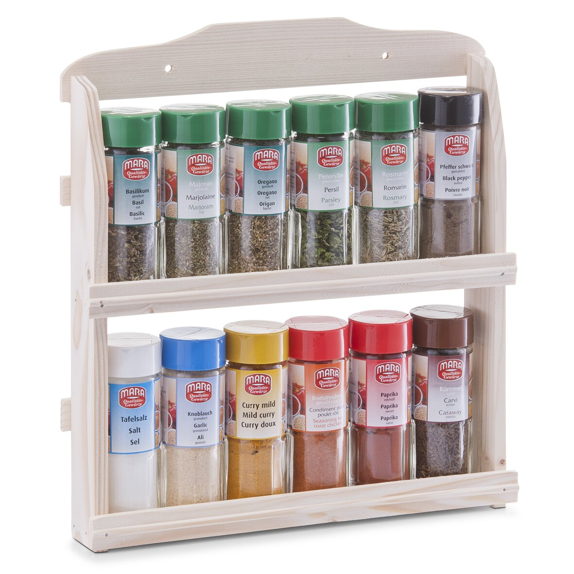 zeller spice rack with 12 spices reviews wayfair uk