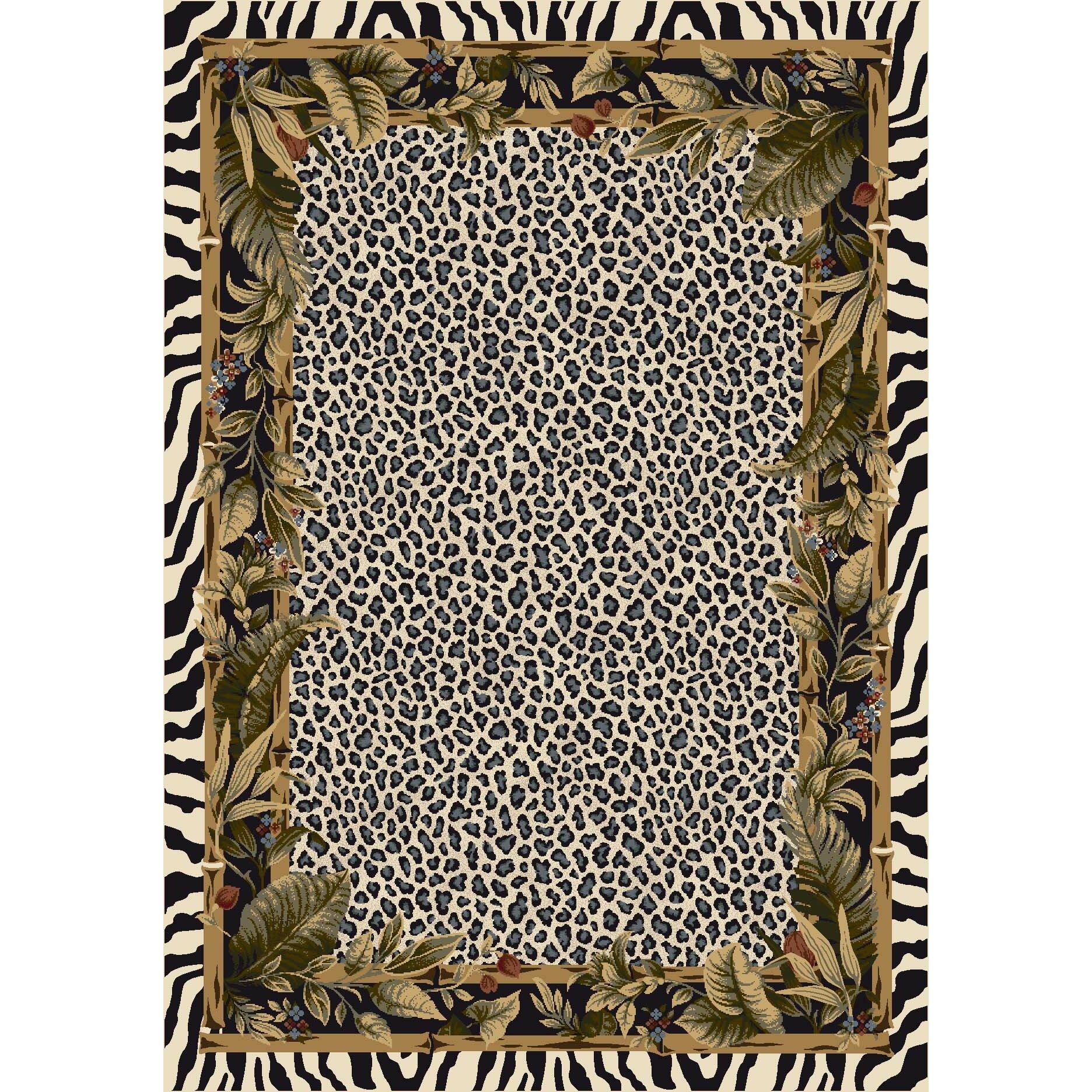 Milliken Signature Jungle Safari Snow Leopard Area Rug