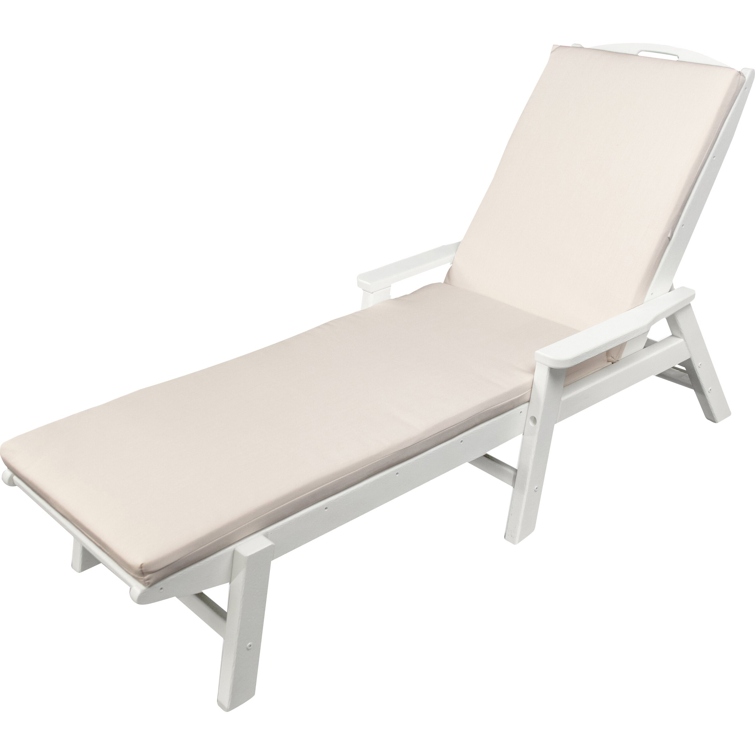 Ateeva outdoor sunbrella chaise lounge cushion reviews for Chaise lounge cushion covers outdoor