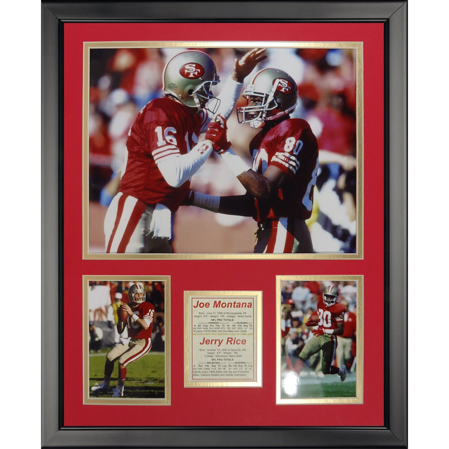 Legends never die nfl san francisco 49ers montana rice for 49ers bathroom decor