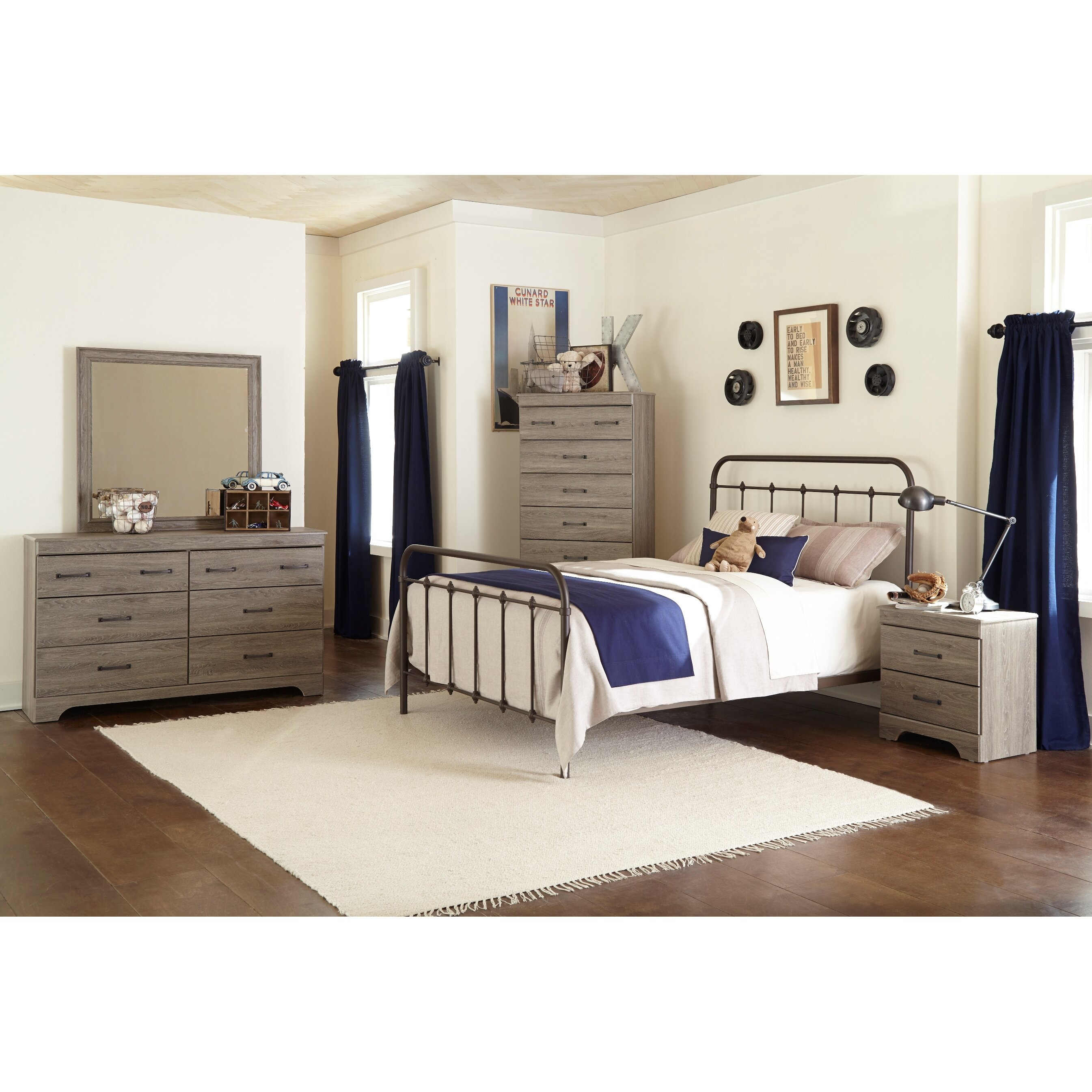 Brady Furniture Industries Logansport Panel Bed & Reviews