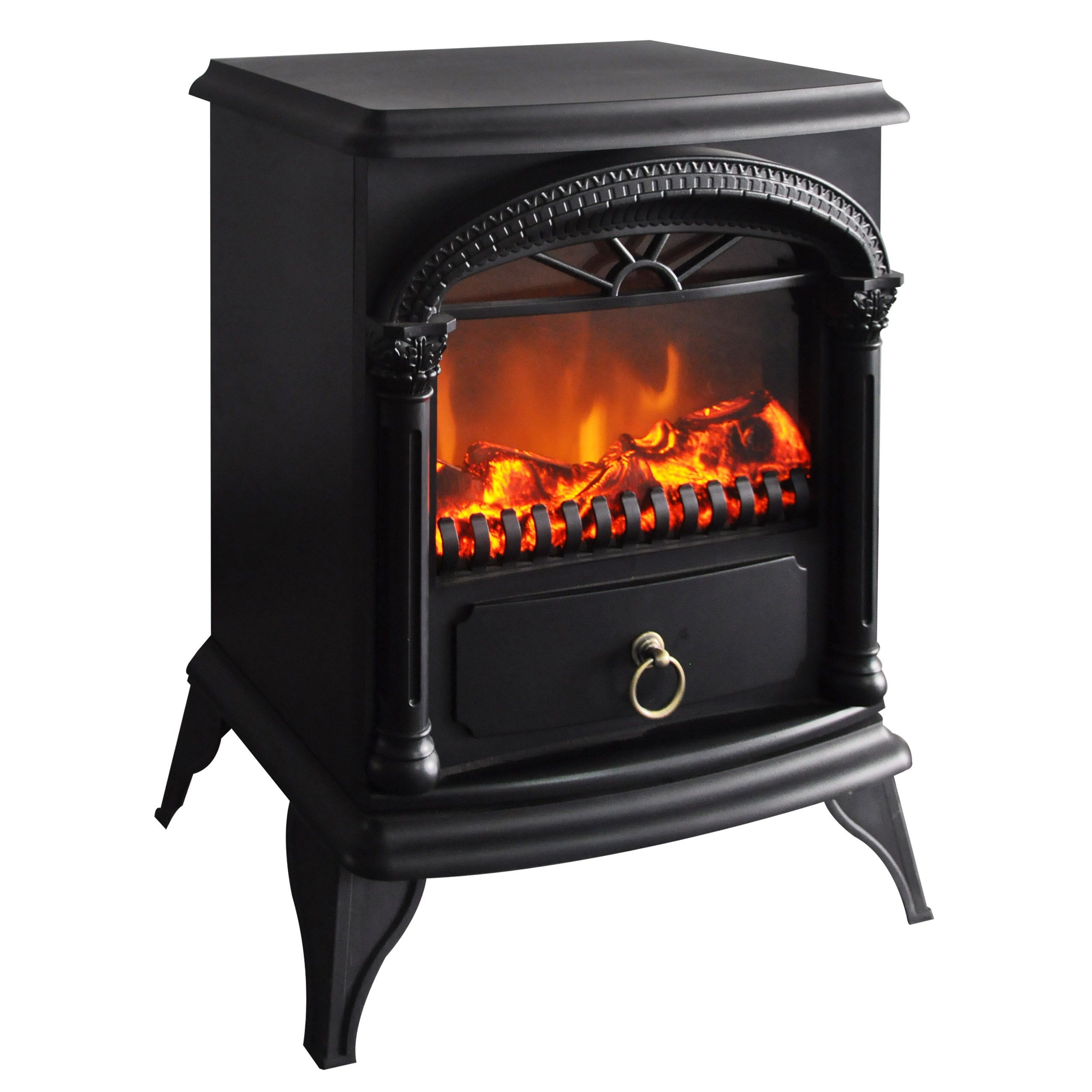 corliving 400 sq ft free standing electric stove reviews wayfair. Black Bedroom Furniture Sets. Home Design Ideas