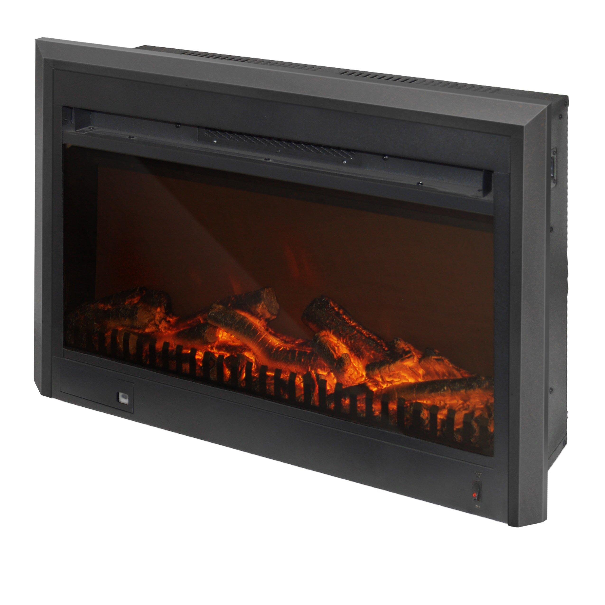 Corliving Electric Fireplace Insert Reviews Wayfair
