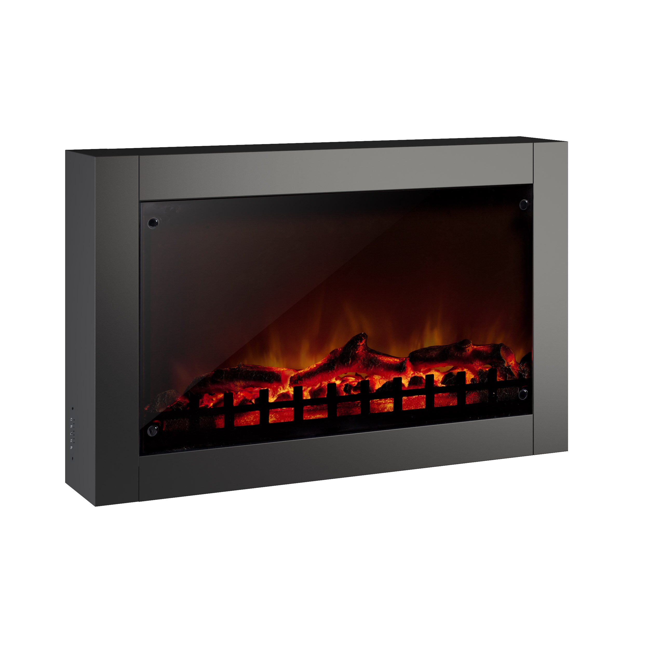 CorLiving Wall Mount Electric Fireplace | Wayfair.ca