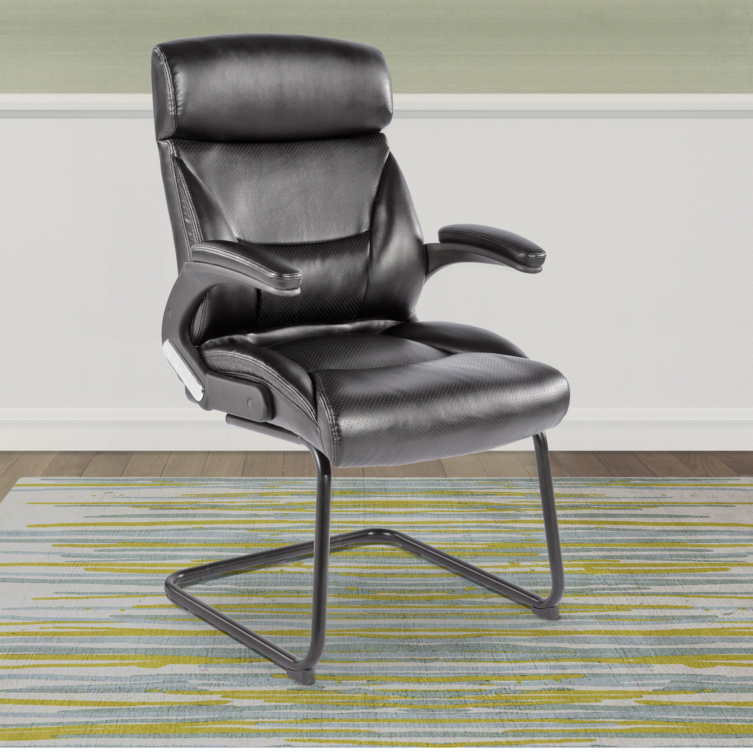 Office Guest Room Ideas: CorLiving Workspace Office Guest Chair