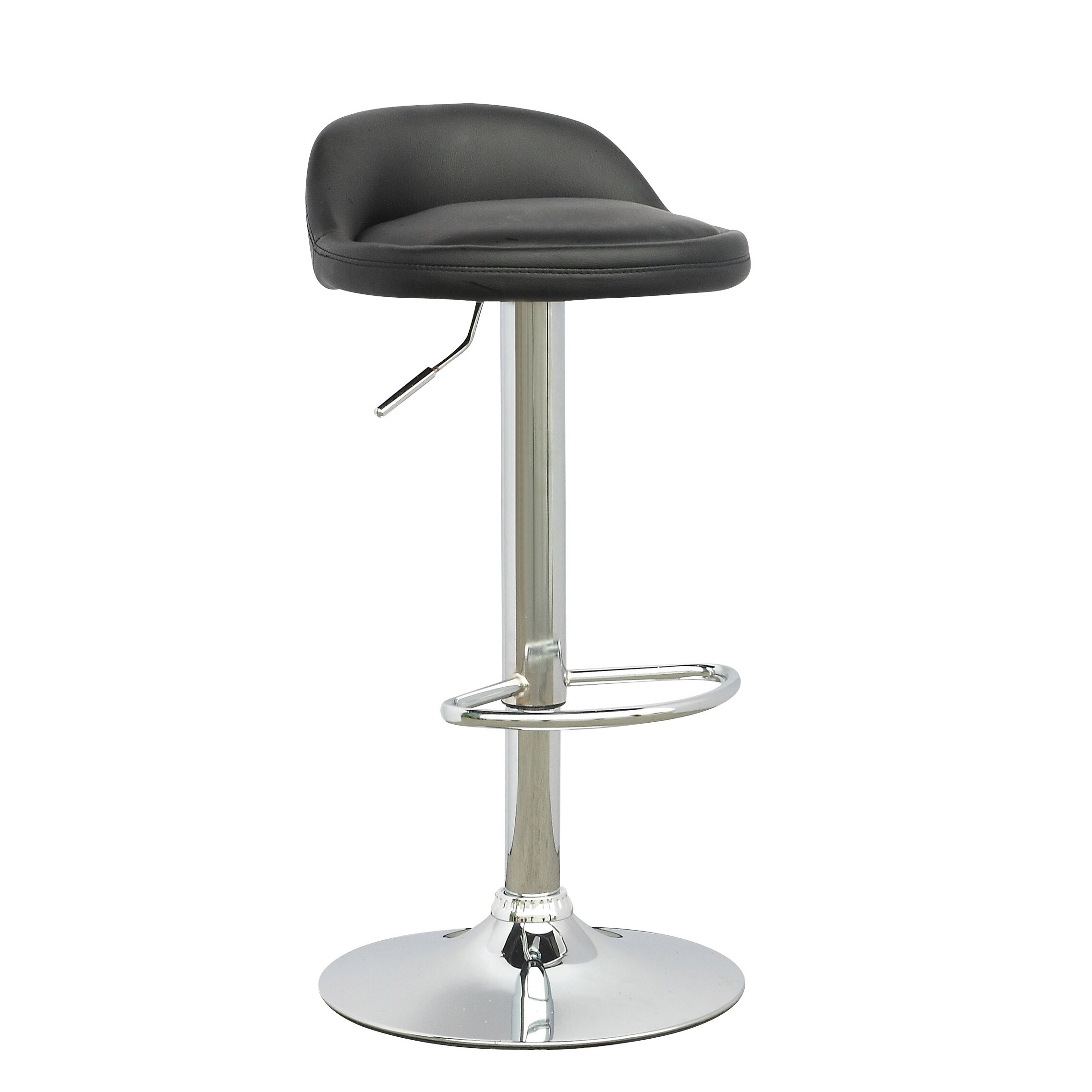 Corliving adjustable height swivel bar stool reviews for Counter height swivel bar stools