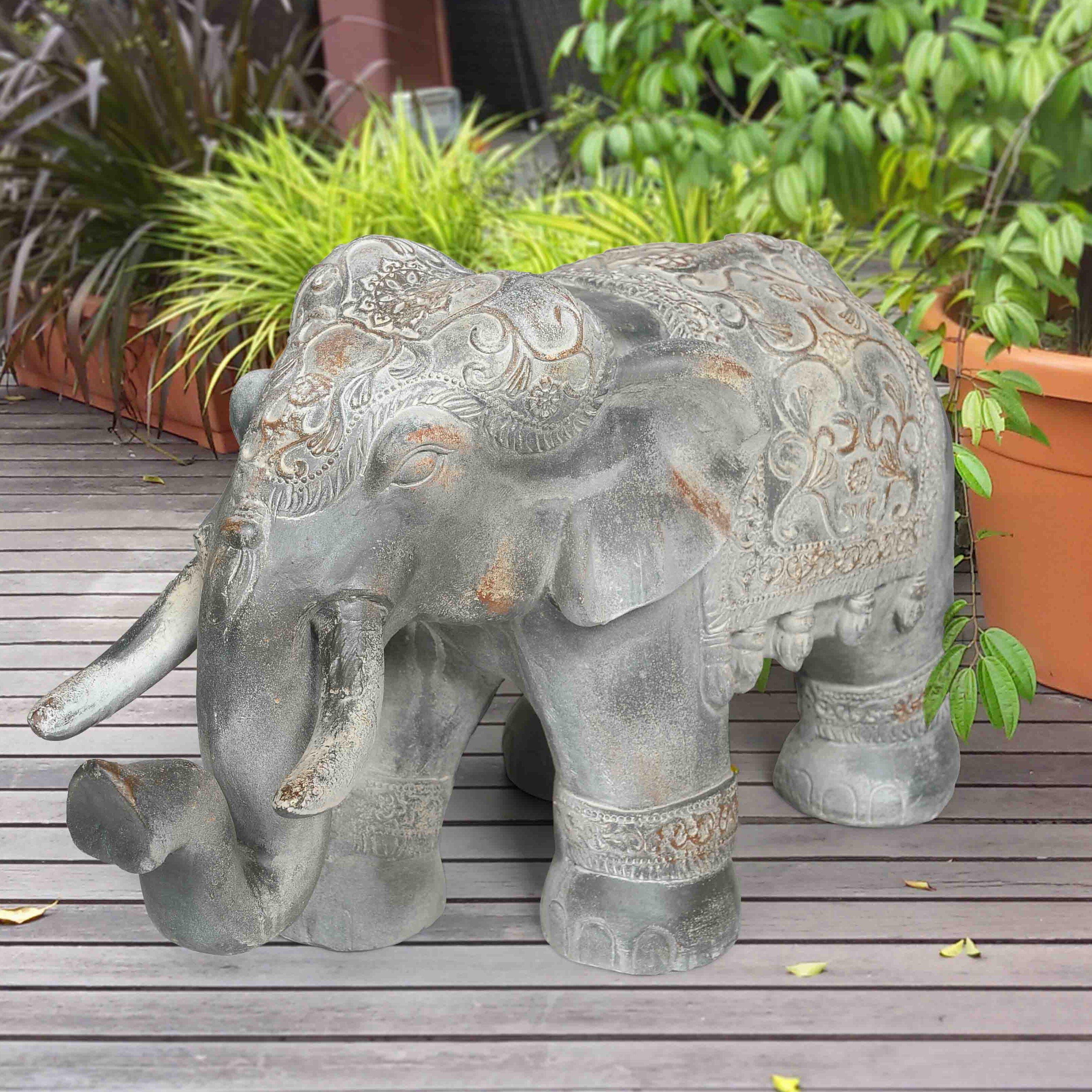 Sunjoy Elephant Garden Statue & Reviews | Wayfair.ca