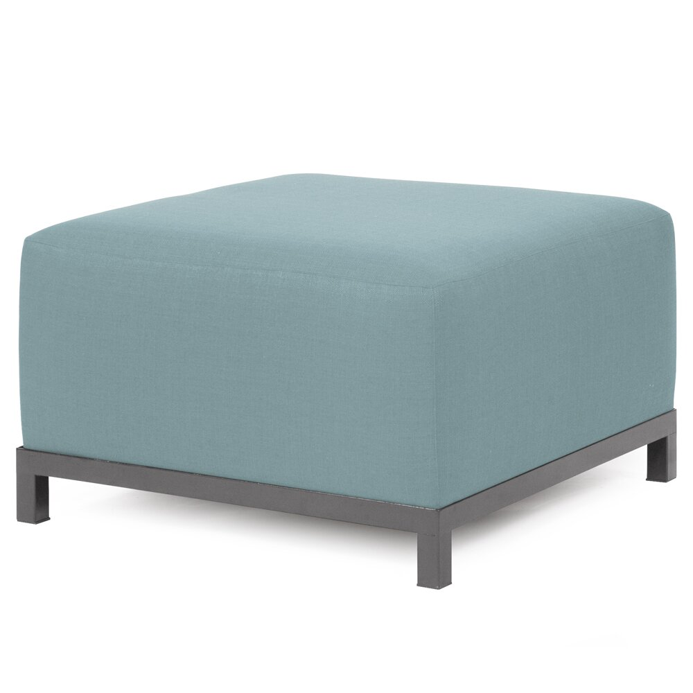 Ottoman Slipcovers Oyster Bay Stowe Ottoman Slipcover Gray Home Brands Square Ottoman