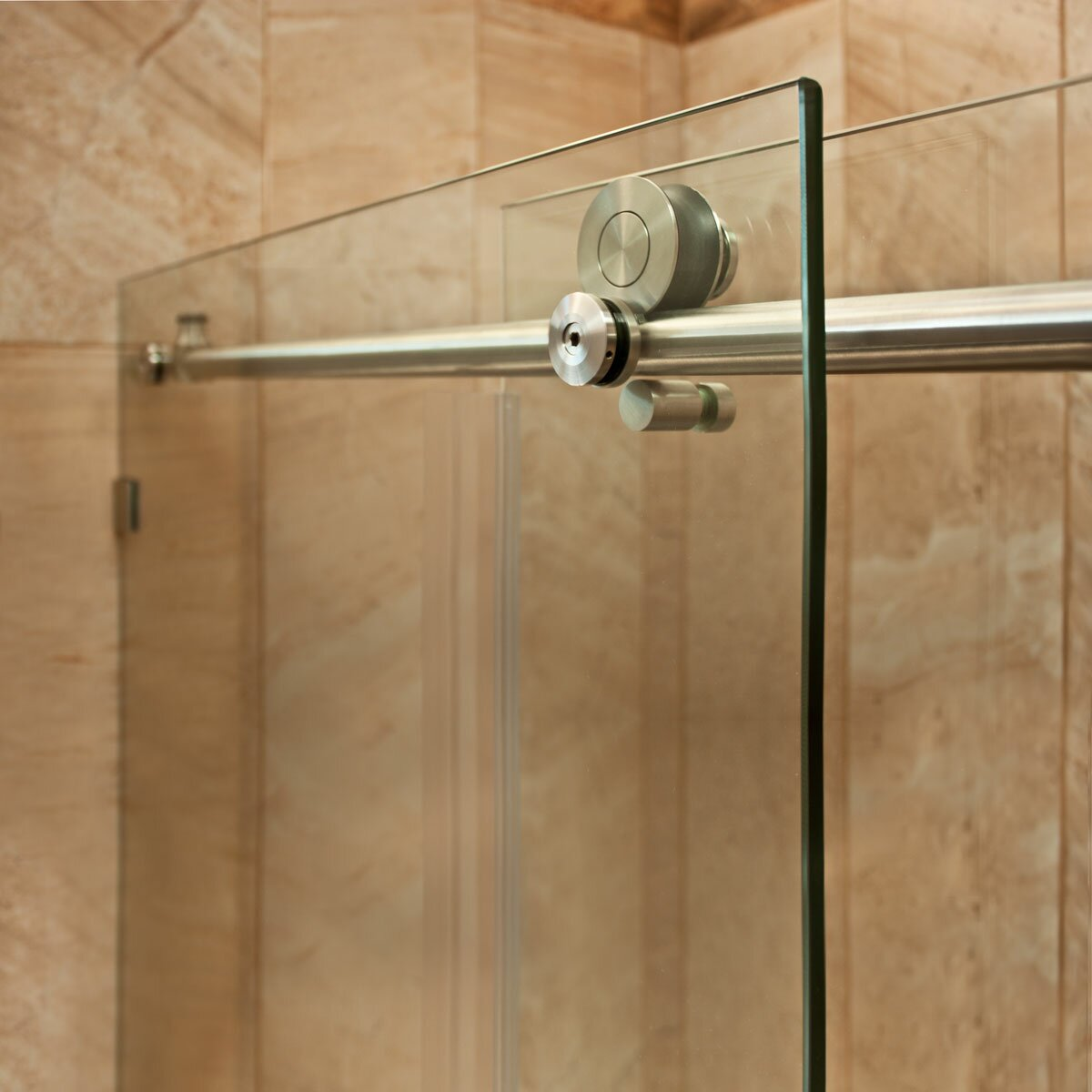 Lesscare Ultra C 48 X 76 Single Sliding Shower Door