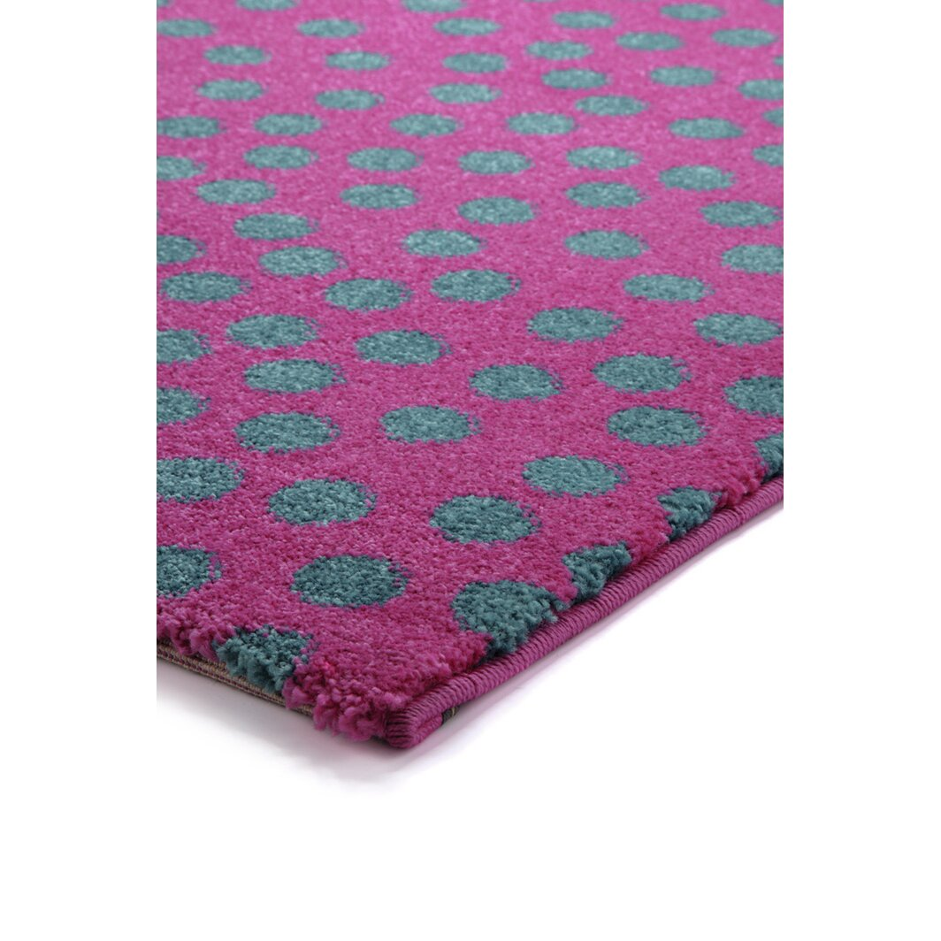 Sigikid Rainbow Rabbit Hand Woven Pink Area Rug Wayfair Uk
