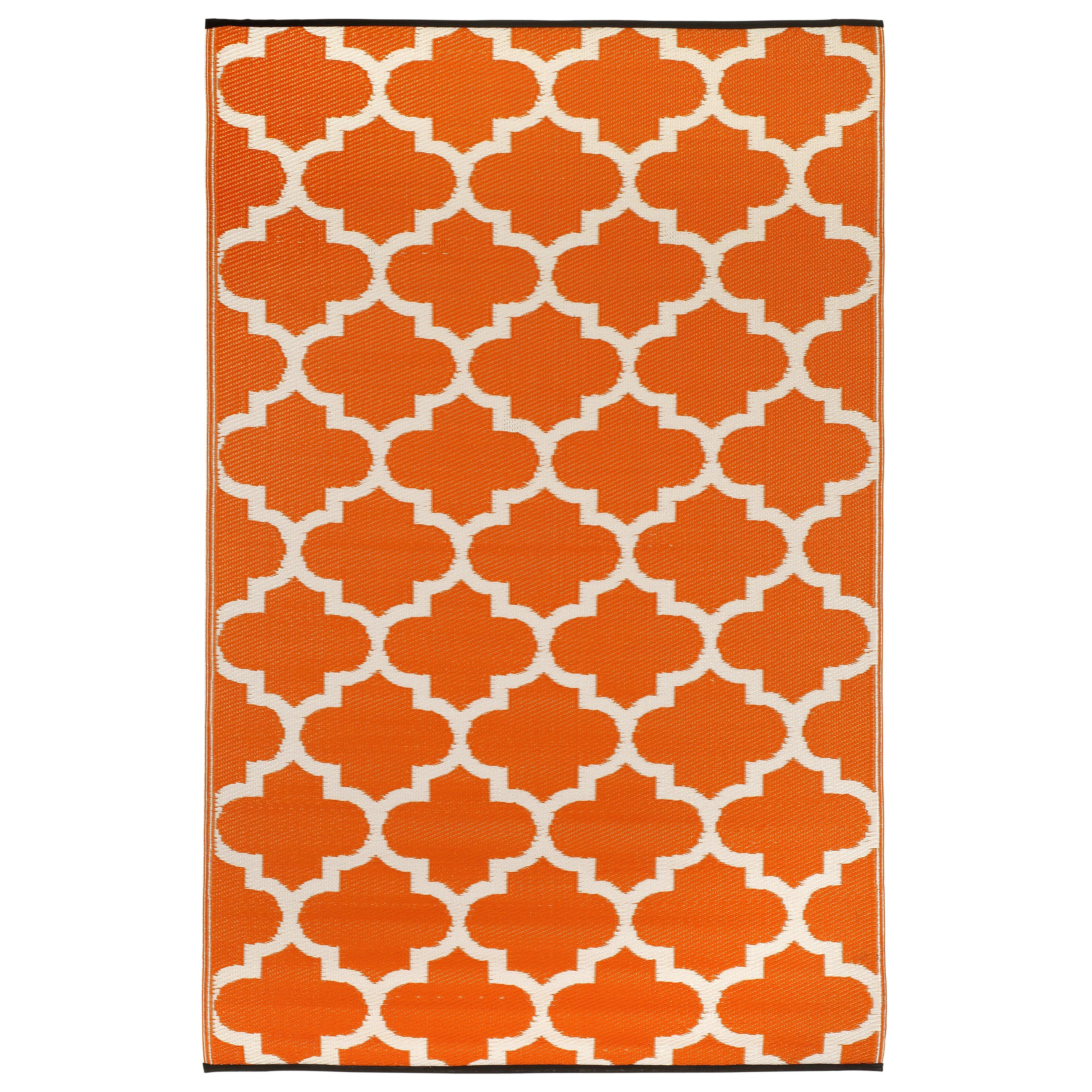 fab habitat handgewebter au enteppich tangier in orange. Black Bedroom Furniture Sets. Home Design Ideas
