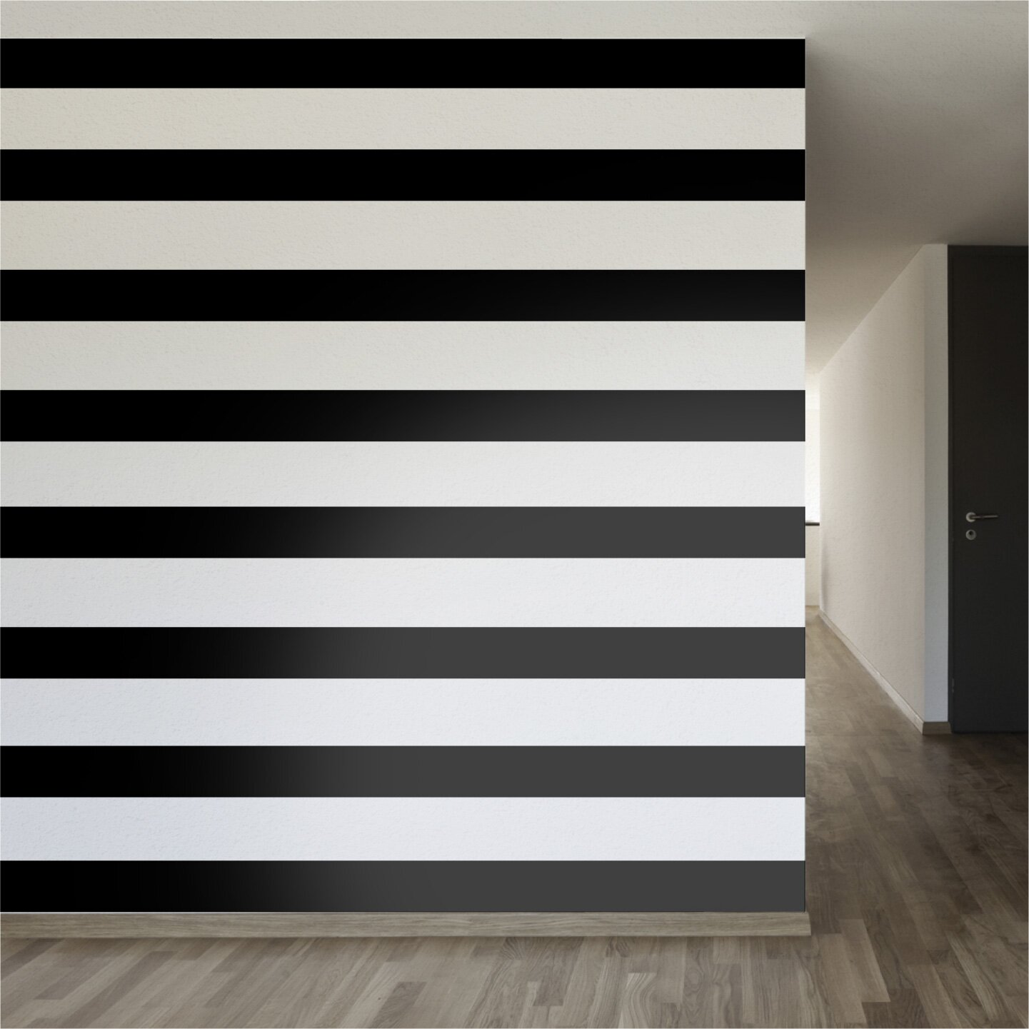 walls need love easy stripe wall decal reviews wayfair. Black Bedroom Furniture Sets. Home Design Ideas