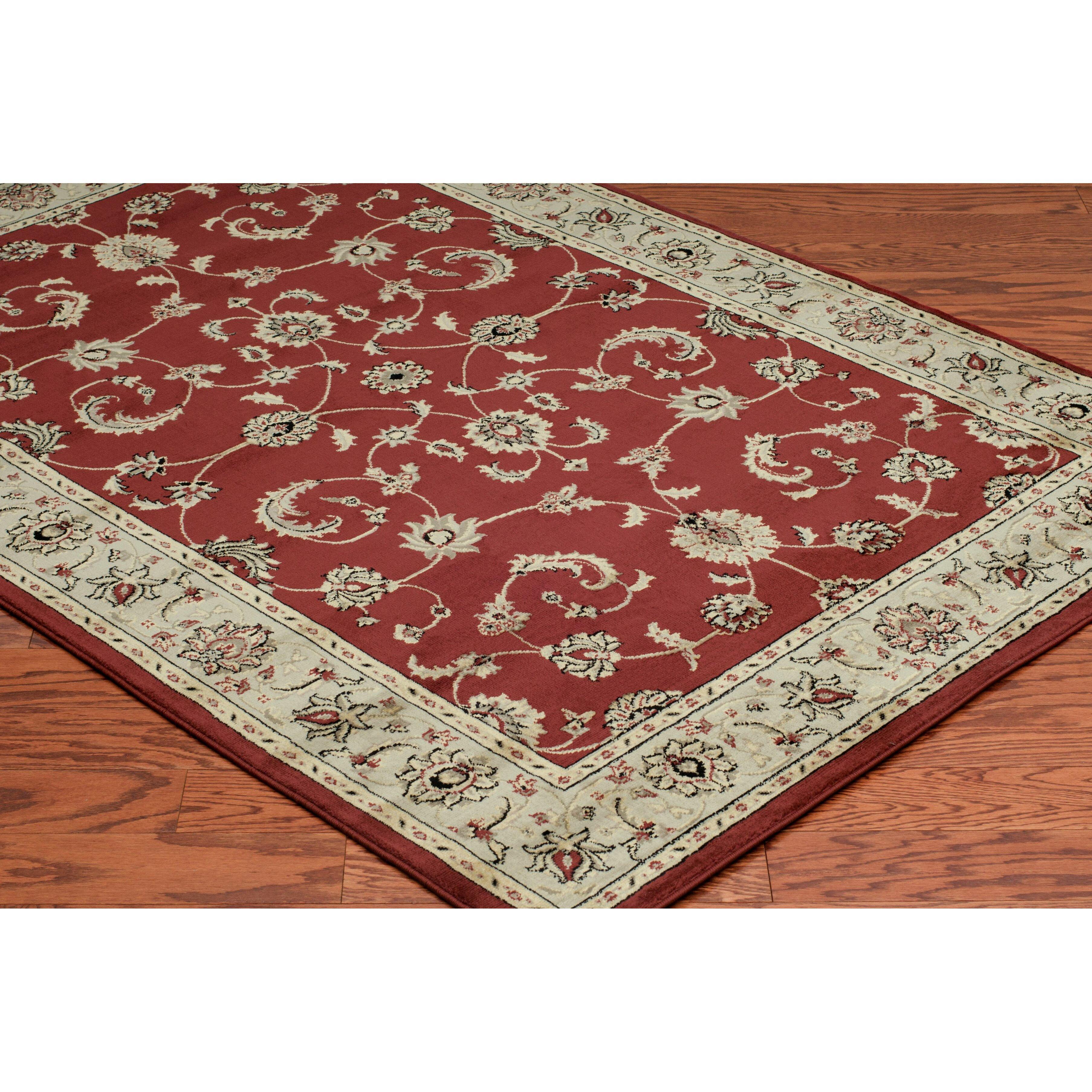 threadbind culver red area rug reviews wayfair
