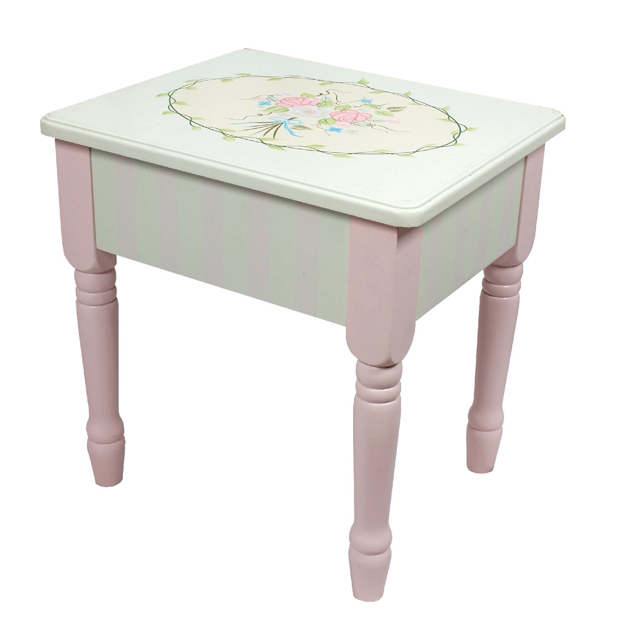 Fantasy Fields Bouquet Vanity Table Amp Stool Set Amp Reviews