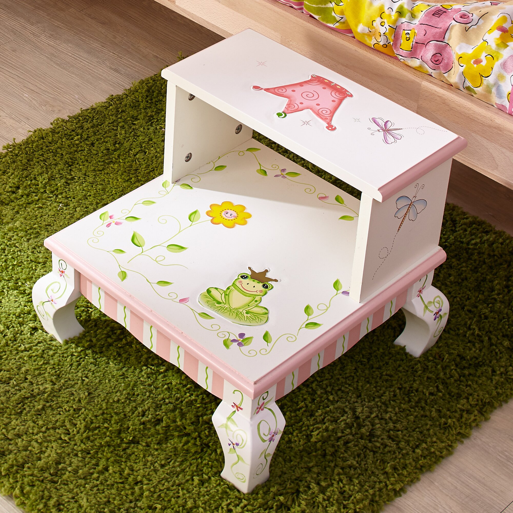 Fantasy Fields Princess And Frog 2 Step Manufactured Wood