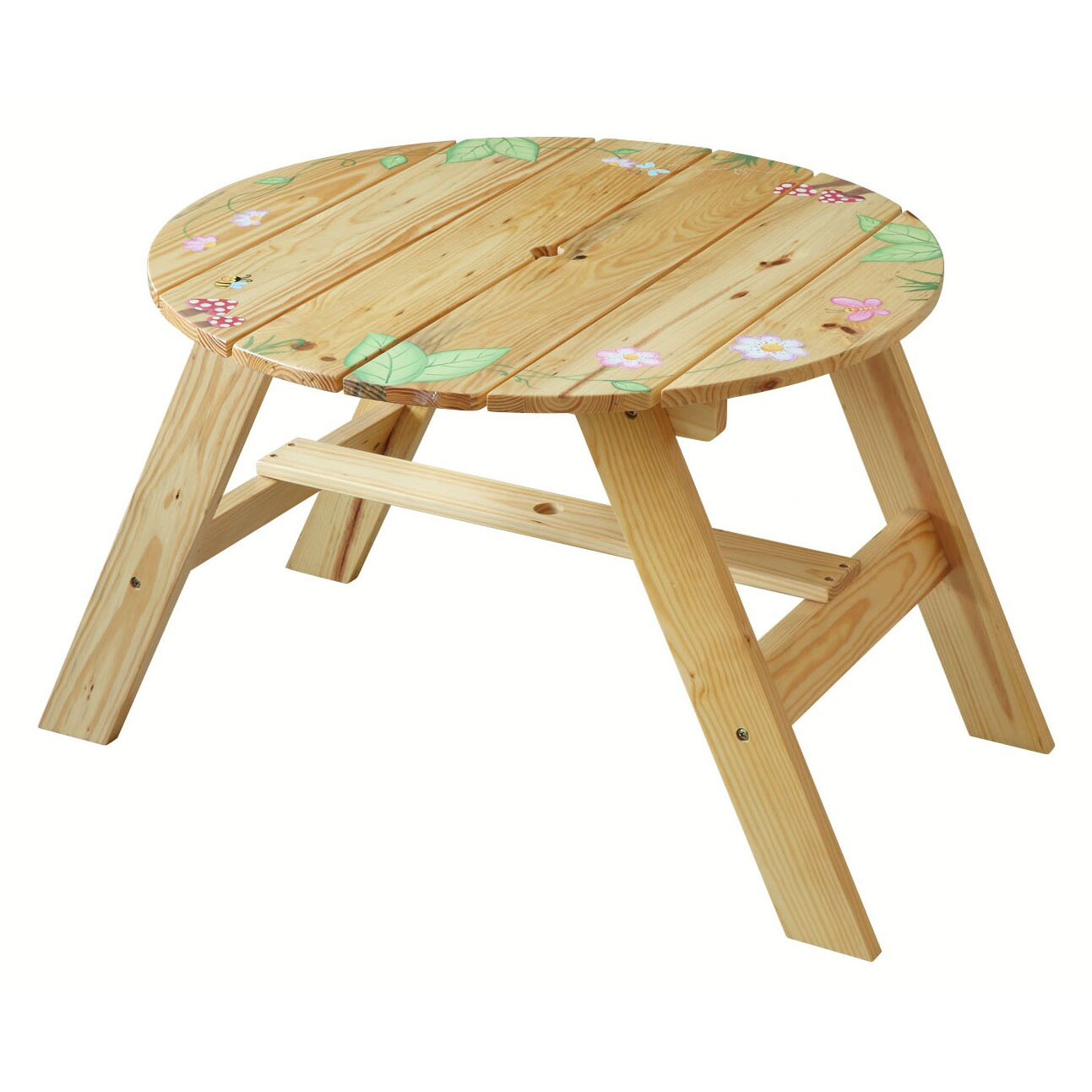 Magic Garden Table And Chair Set: Fantasy Fields Kids 3 Piece Round Table And Chair Set