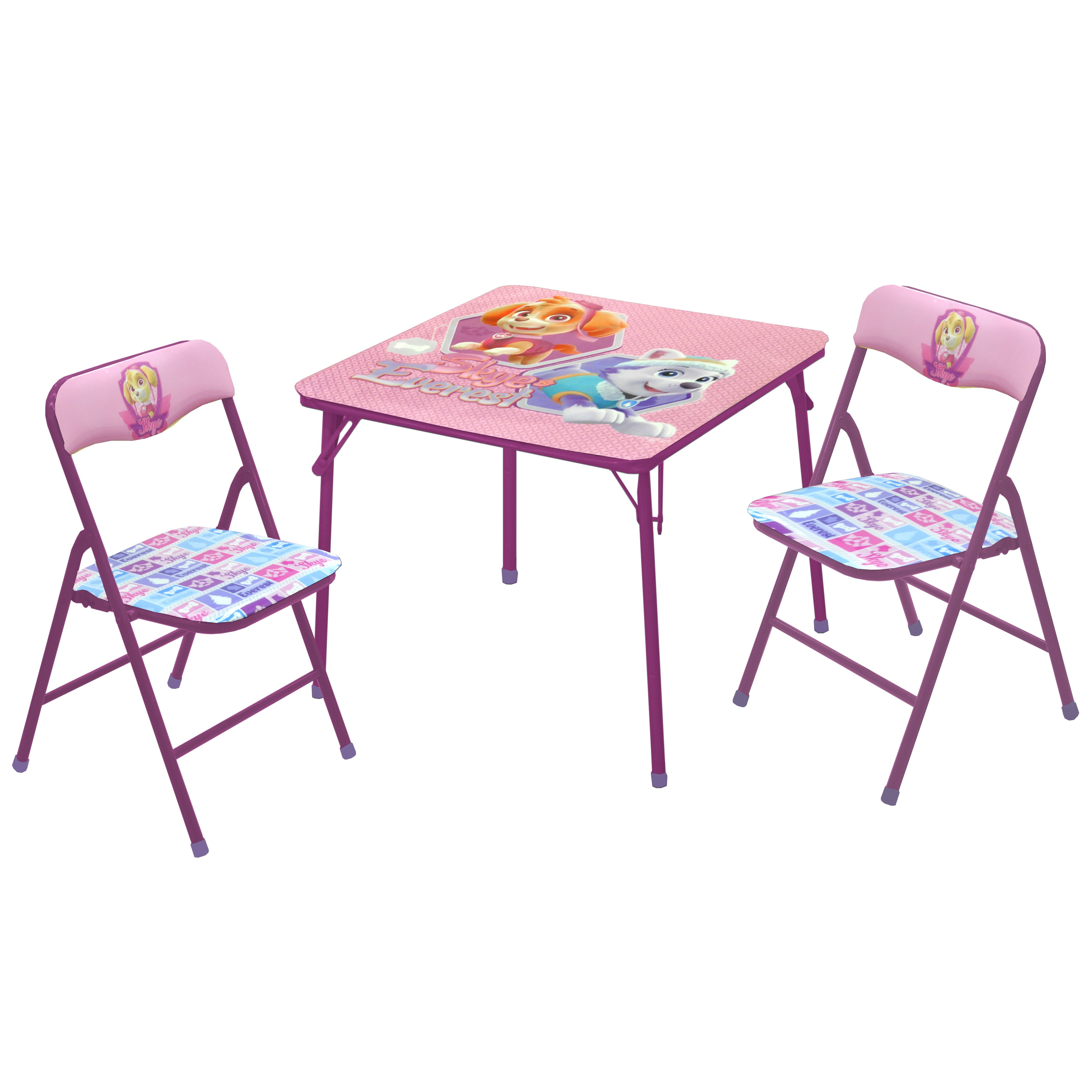 Idea Nuova Nickelodeon Paw Patrol Skye and Everest Kids  : Idea Nuova Nickelodeon Paw Patrol Skye and Everest Kids 3 Piece Table and Chair Set from www.wayfair.com size 4288 x 4288 jpeg 998kB