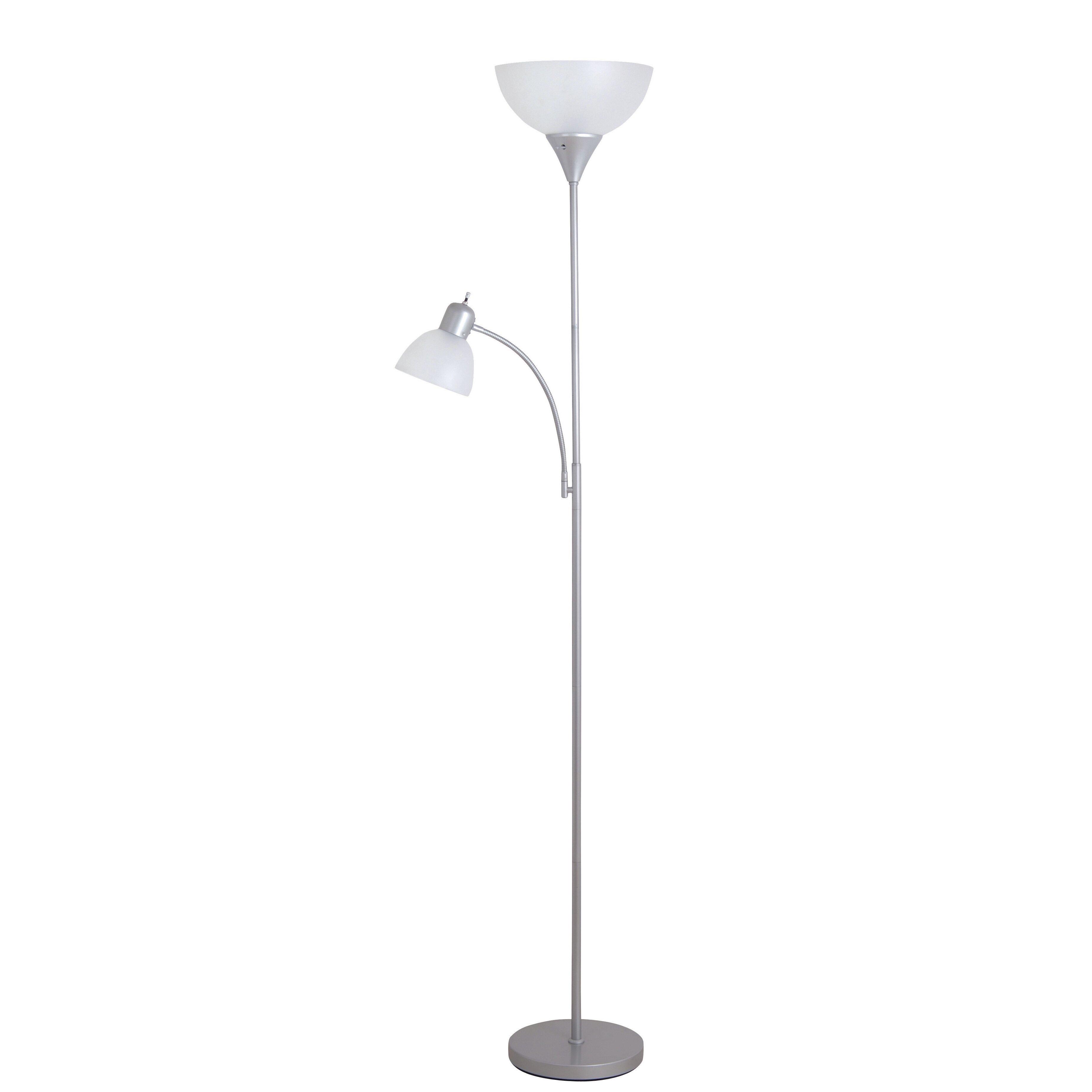 Zipcode design torchiere floor lamp with reading for Floor lamps reading lights