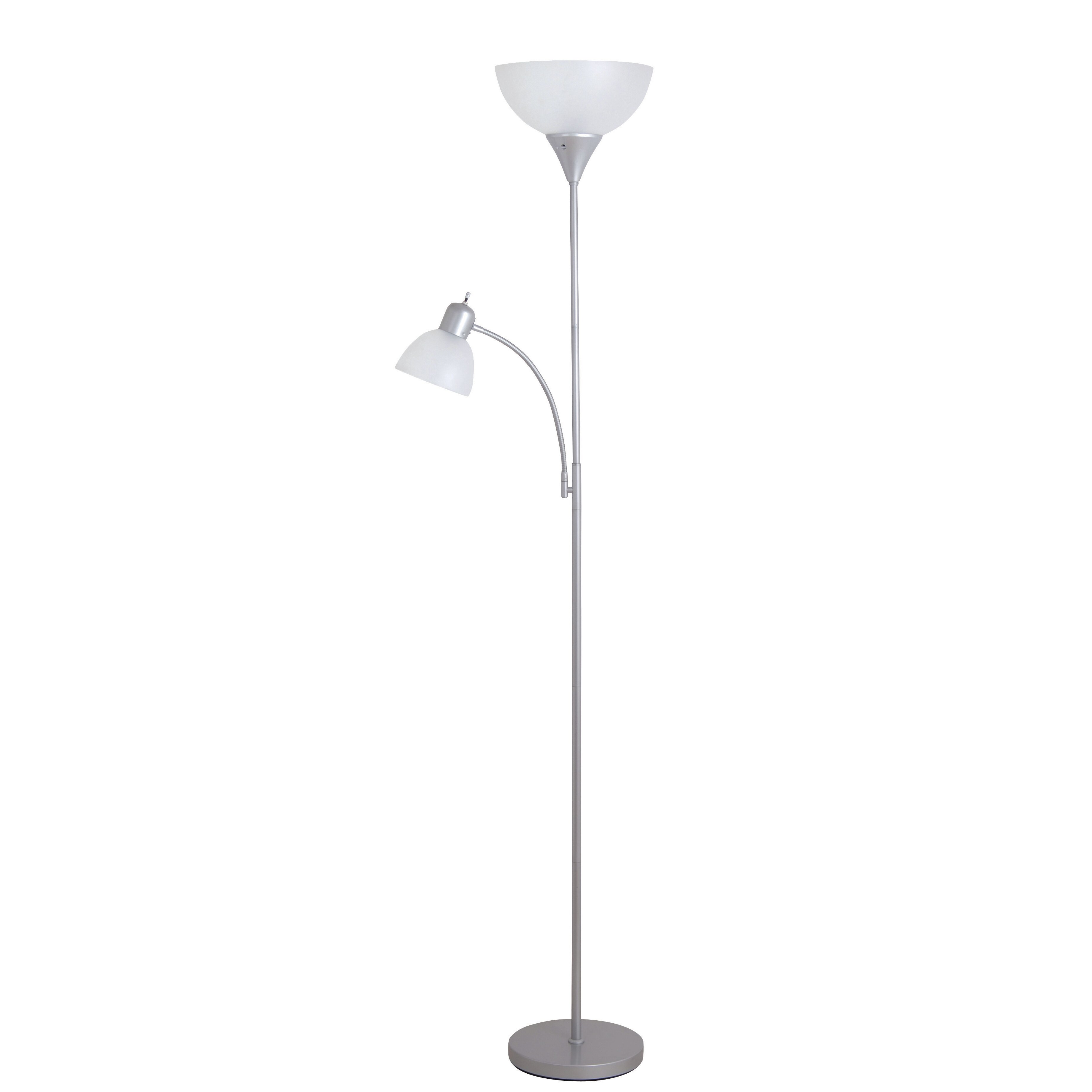 Zipcode design torchiere floor lamp with reading for Reading floor lamp reviews