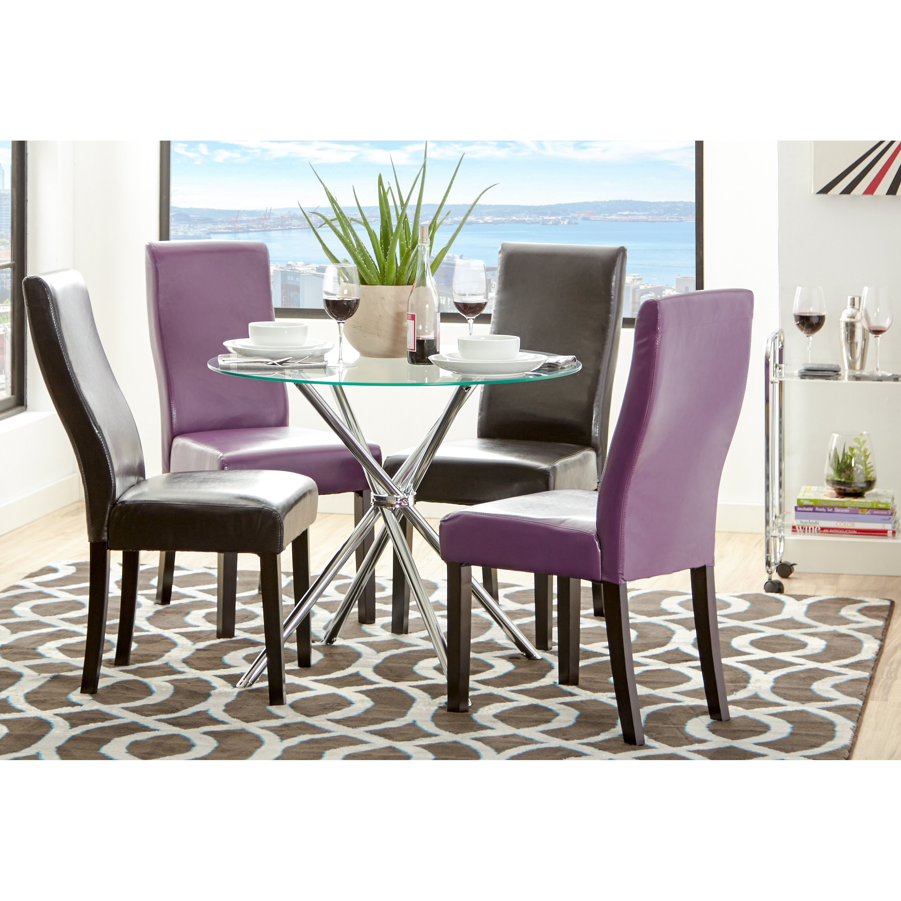 Zipcode™ Design Vince Glass Round Dining Table & Reviews ...