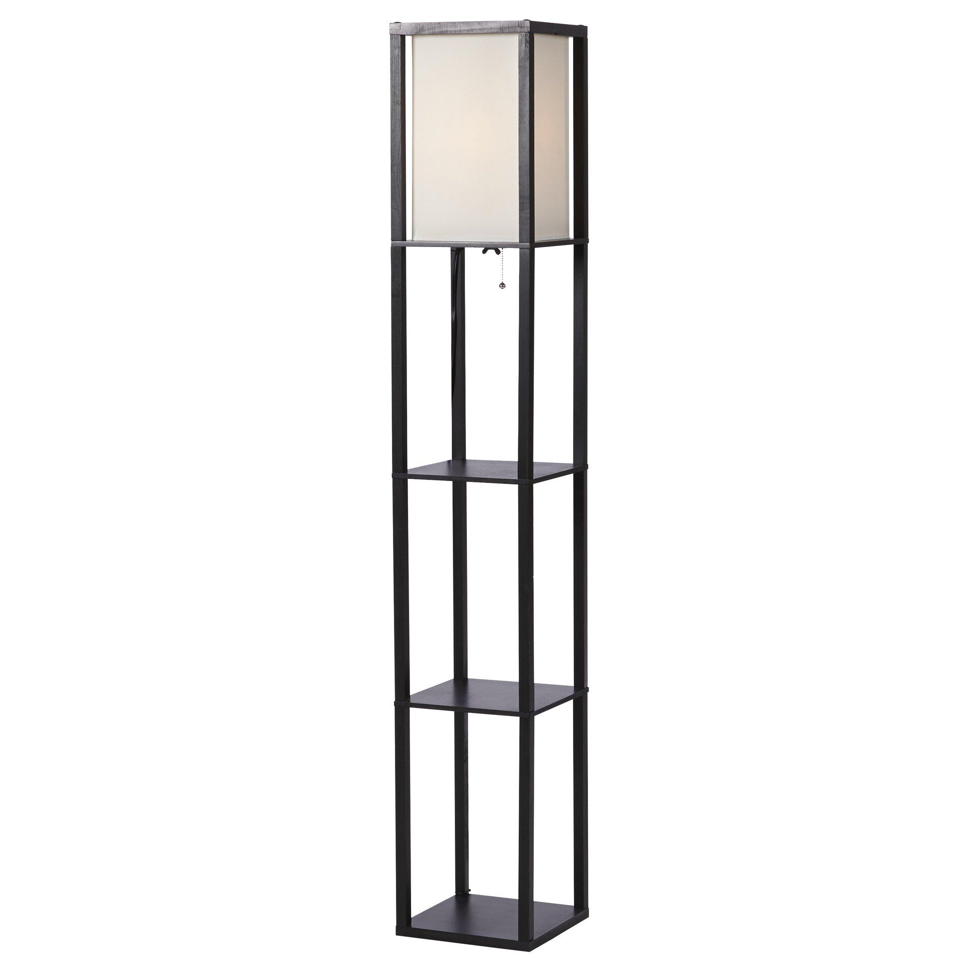 Zipcodetm design stefanie 628quot floor lamp reviews wayfair for 8 floor lamp