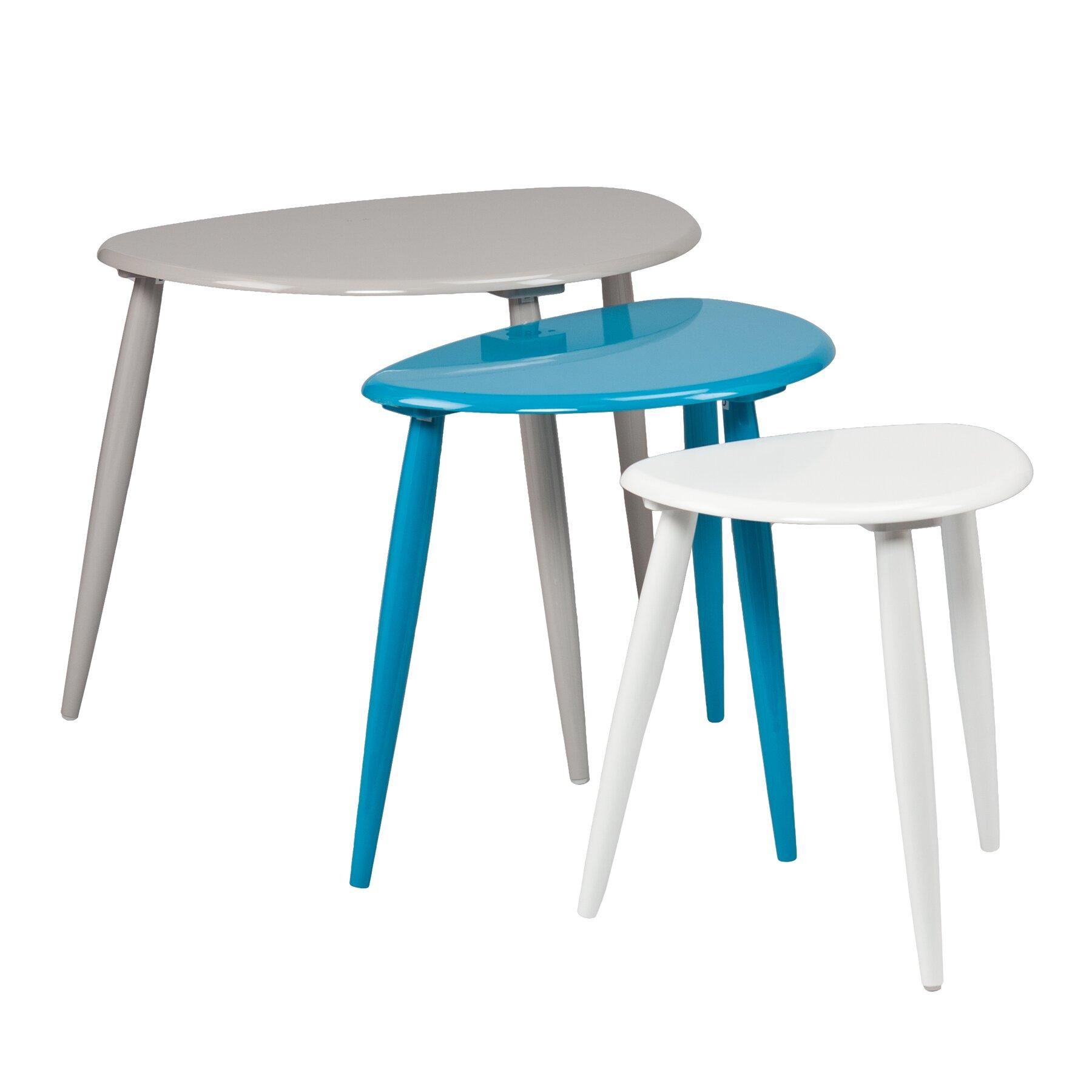 Zipcode Design Ayres 3 Piece Nesting Table Set Amp Reviews