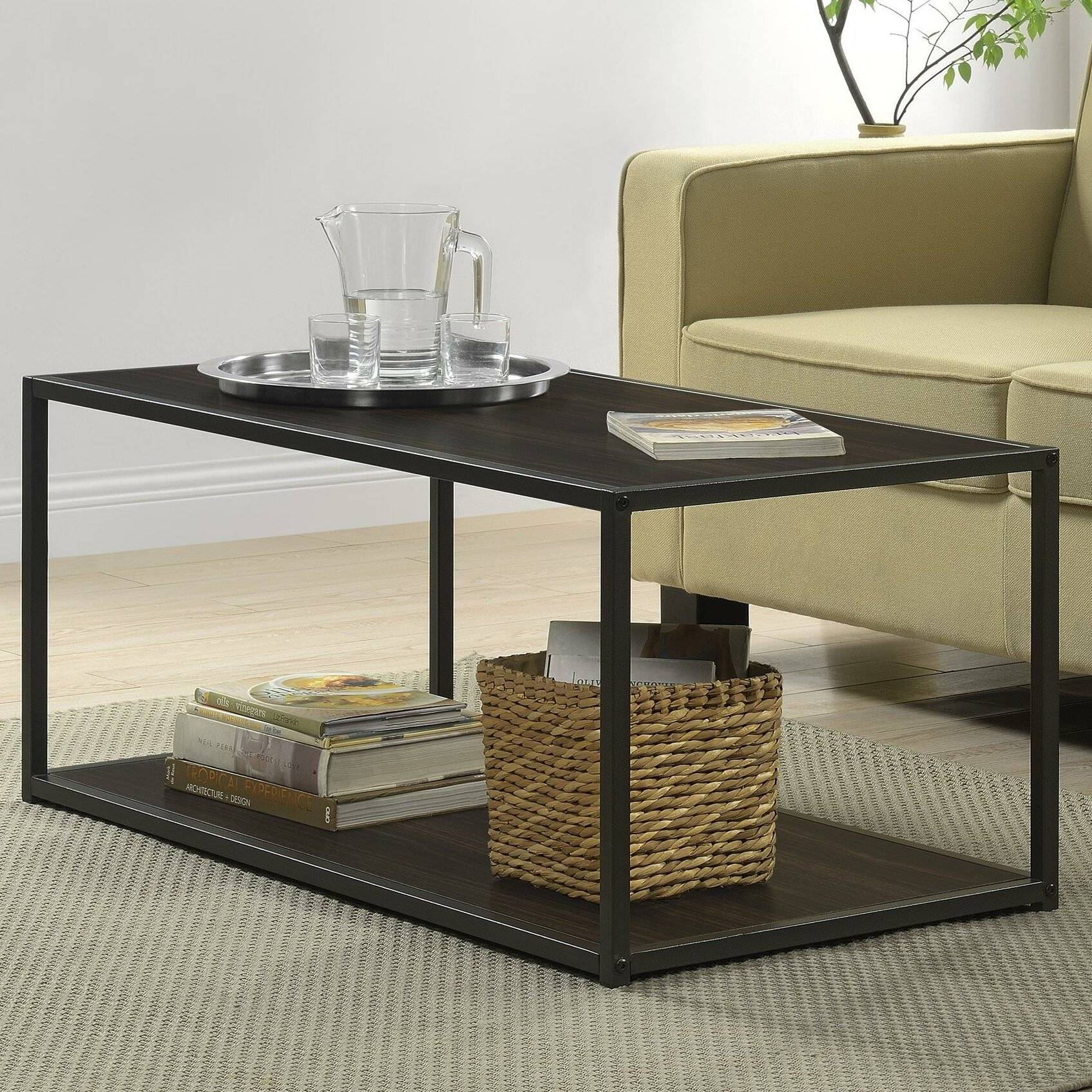 Industrial Coffee Table Images: Zipcode™ Design Clarissa Industrial Coffee Table & Reviews