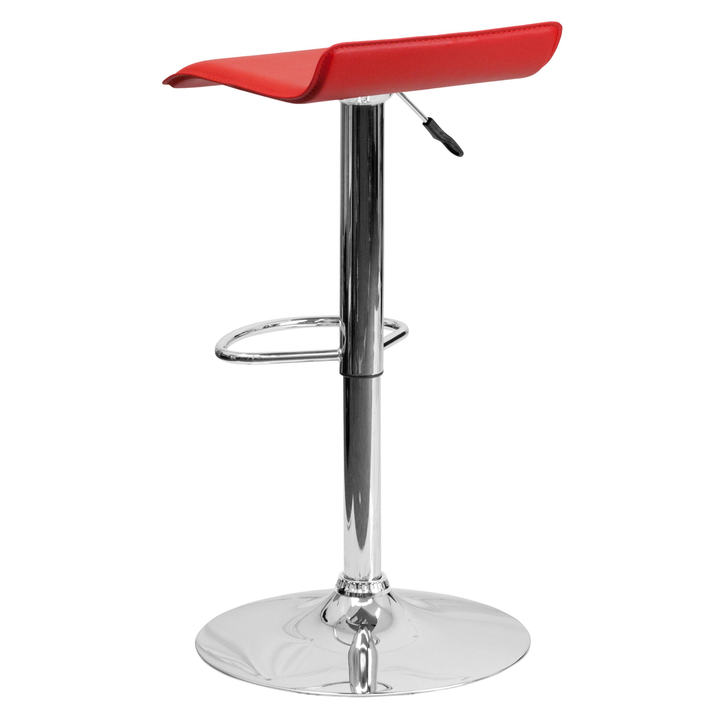 Zipcode Design Adjustable Height Swivel Bar Stool