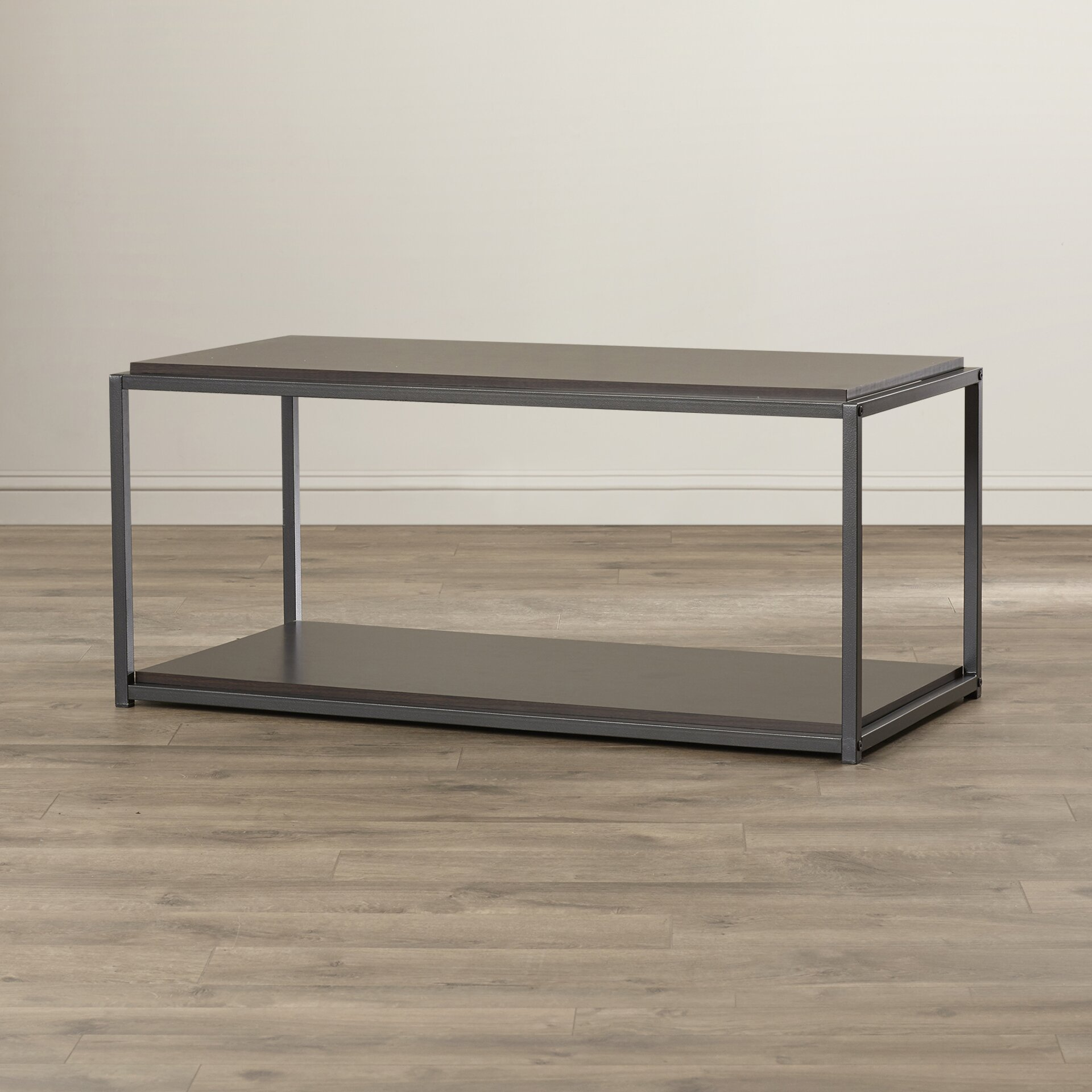 zipcode design clarissa industrial coffee table reviews