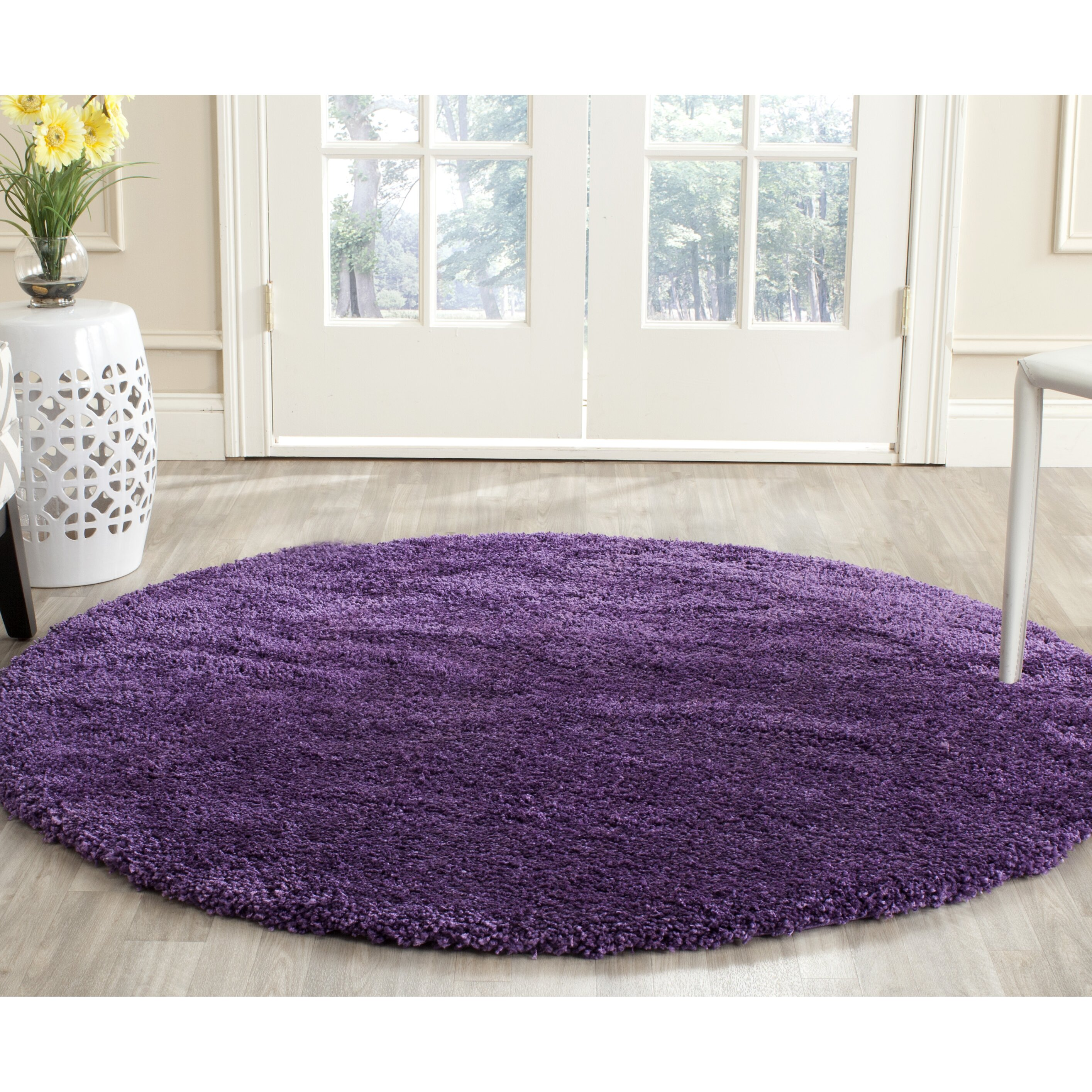 Purple Rug: Zipcode™ Design Douglasville Purple Area Rug & Reviews