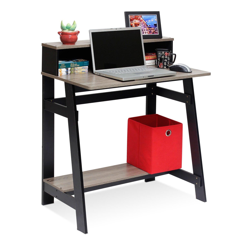 Zipcode™ Design Annie Computer Desk With Built-in Hutch
