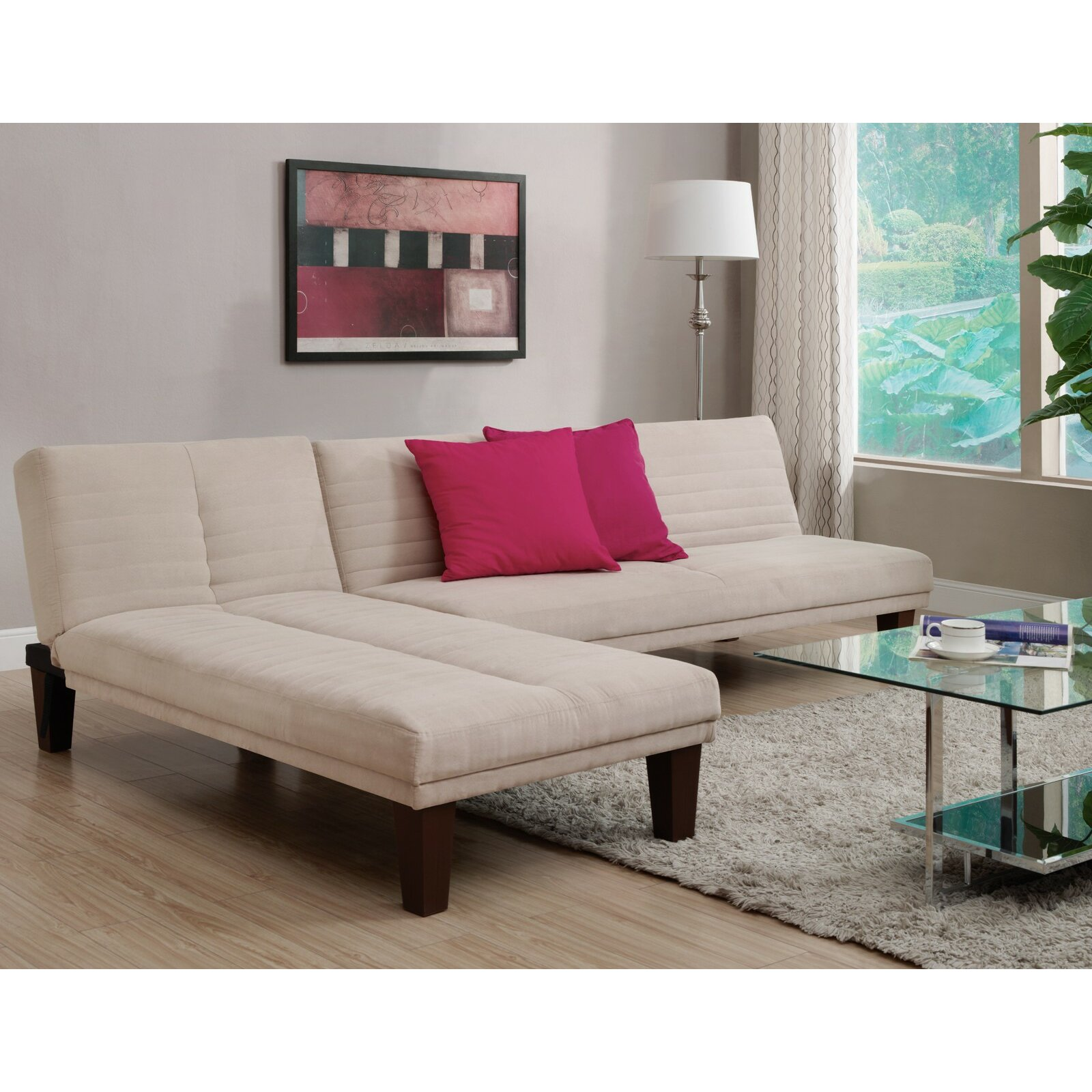 Zipcode design bianca chaise lounge reviews wayfair for Chaises design colorees