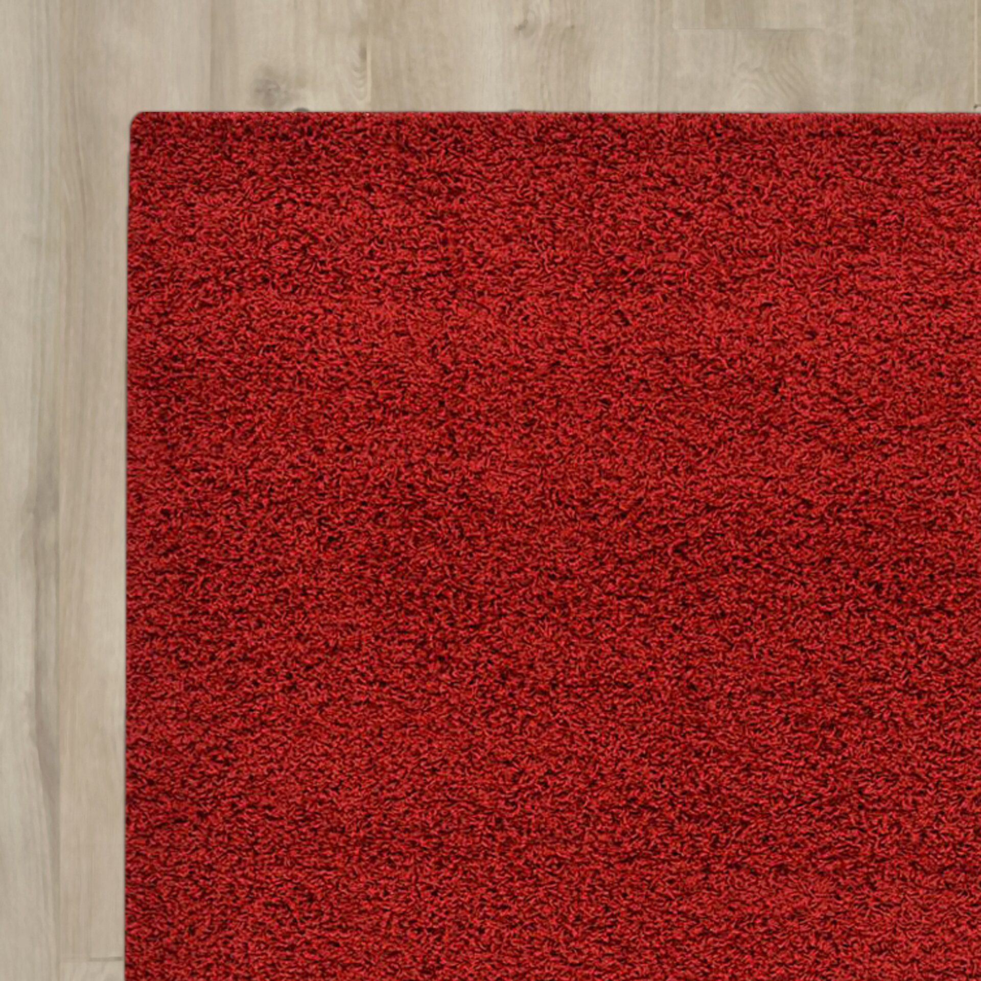 Zipcode™ Design Madison Basic Red Area Rug & Reviews