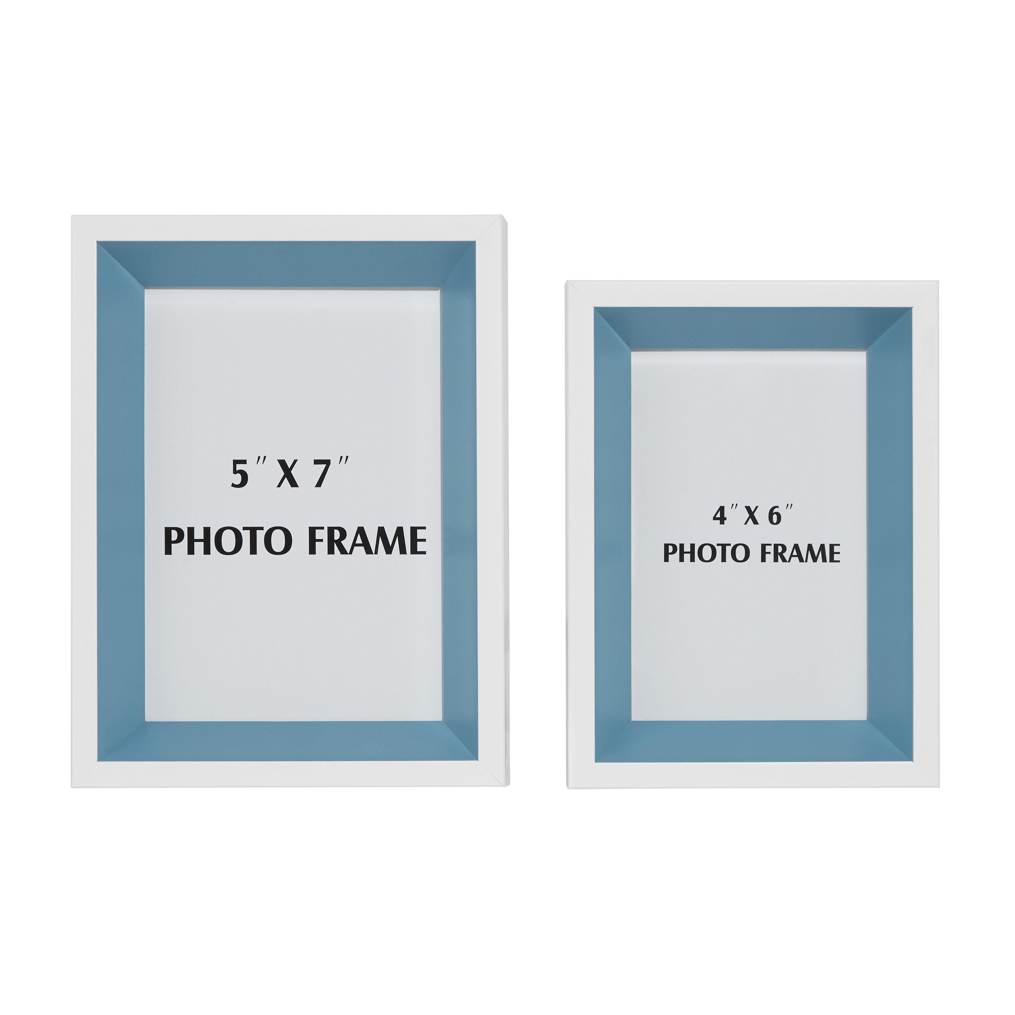 Zipcode Design 2 Piece Picture Frame Set Reviews Wayfair
