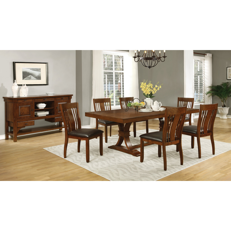 Wildon home abrams dining table wayfair for Wildon home dining