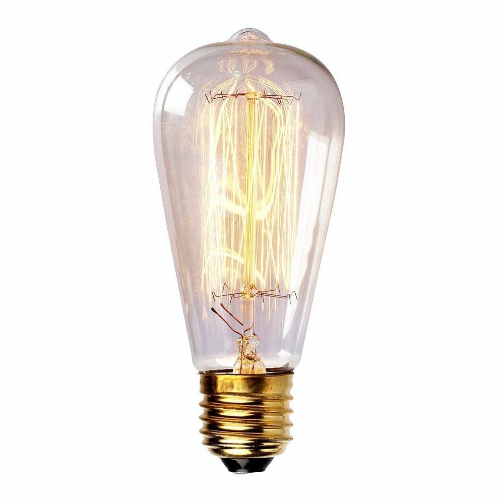 Newhouse Lighting 60W Vintage Incandescent Light Bulb ...