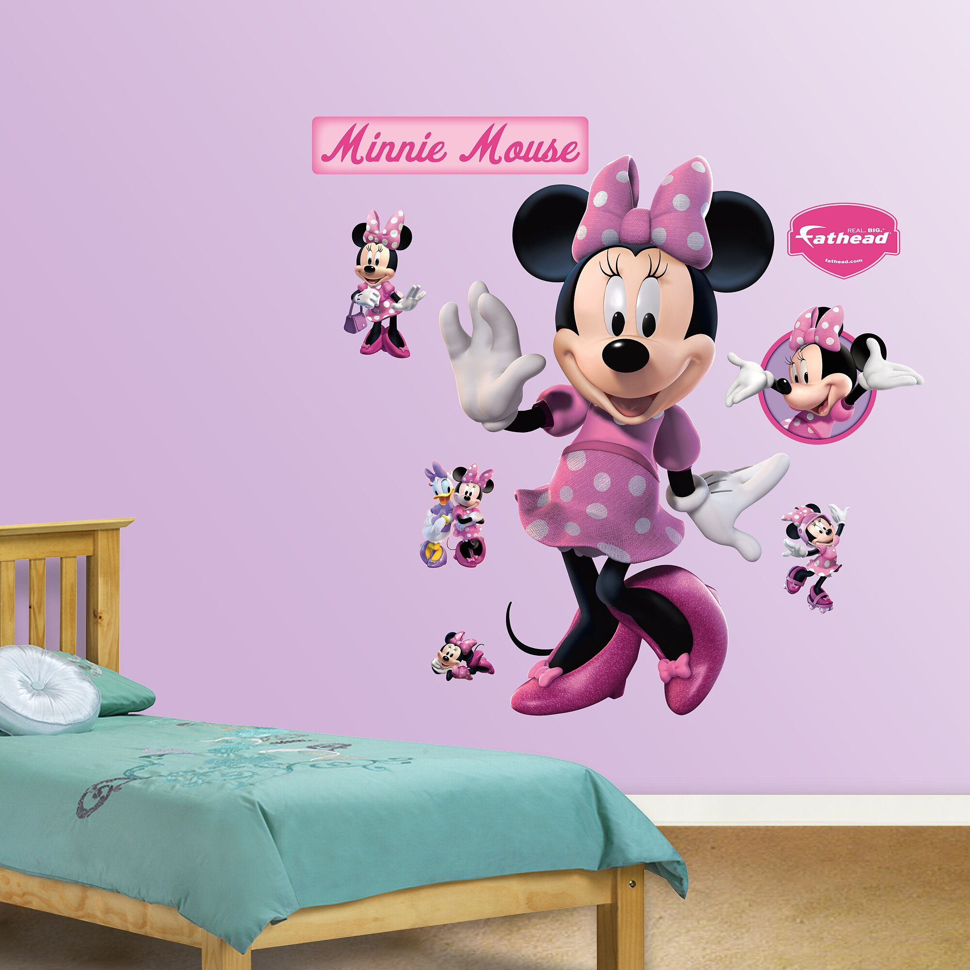 Fathead Disney Minnie Mouse Wall Decal amp Reviews Wayfair