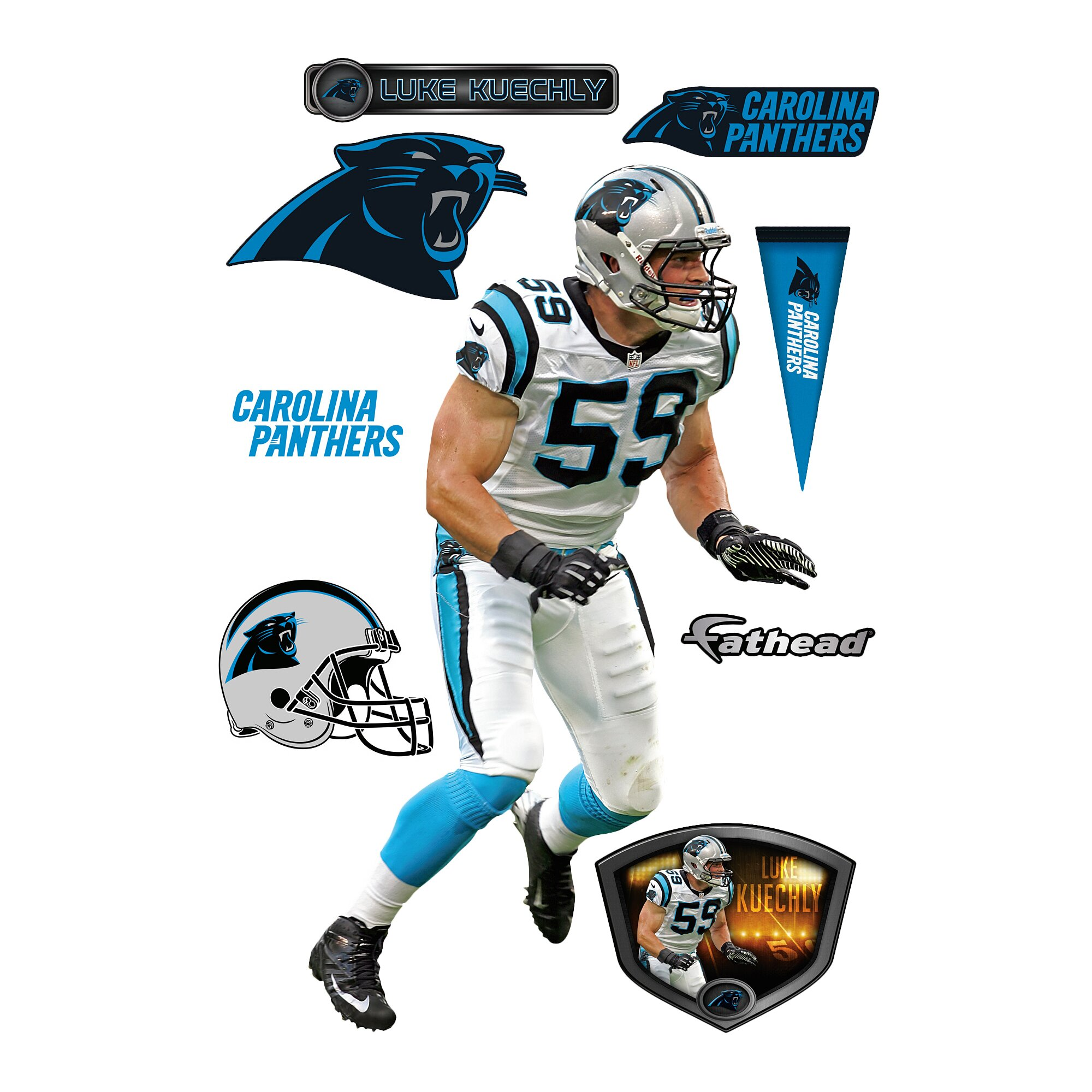 Nfl Fatheads Wall Stickers Fathead Nfl Wall Decal Amp Reviews Wayfair