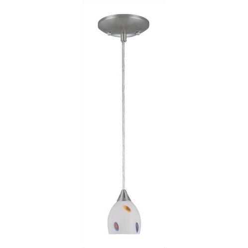 lite source 1 light hanging mini pendant reviews wayfair