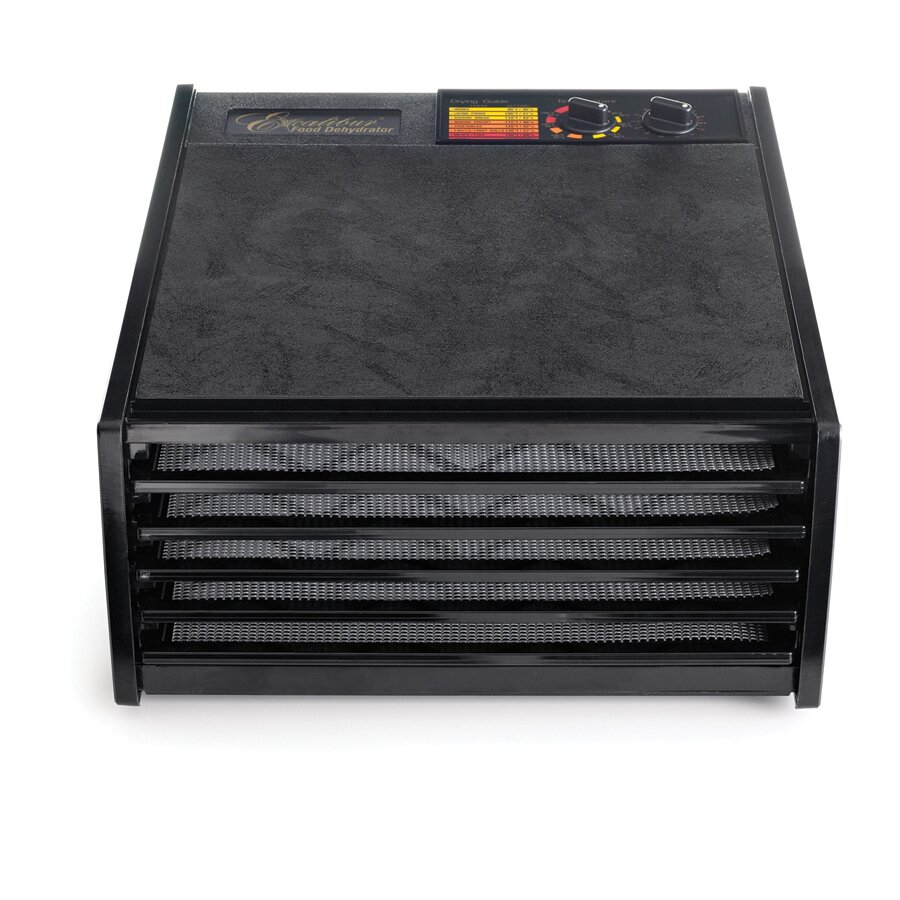 excalibur 5 tray dehydrator with timer reviews wayfair. Black Bedroom Furniture Sets. Home Design Ideas