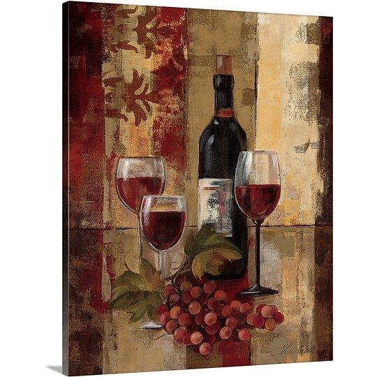 Great Big Canvas 39 Graffiti And Wine Ii 39 By Silvia