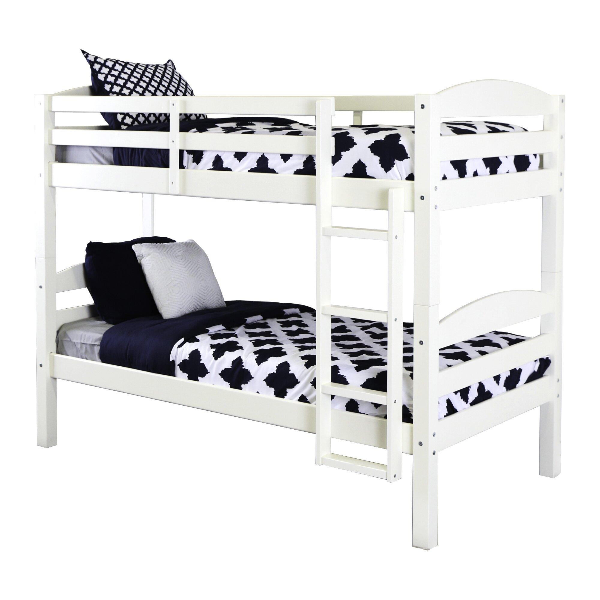 Home loft concepts twin bunk bed reviews wayfair for Concept beds