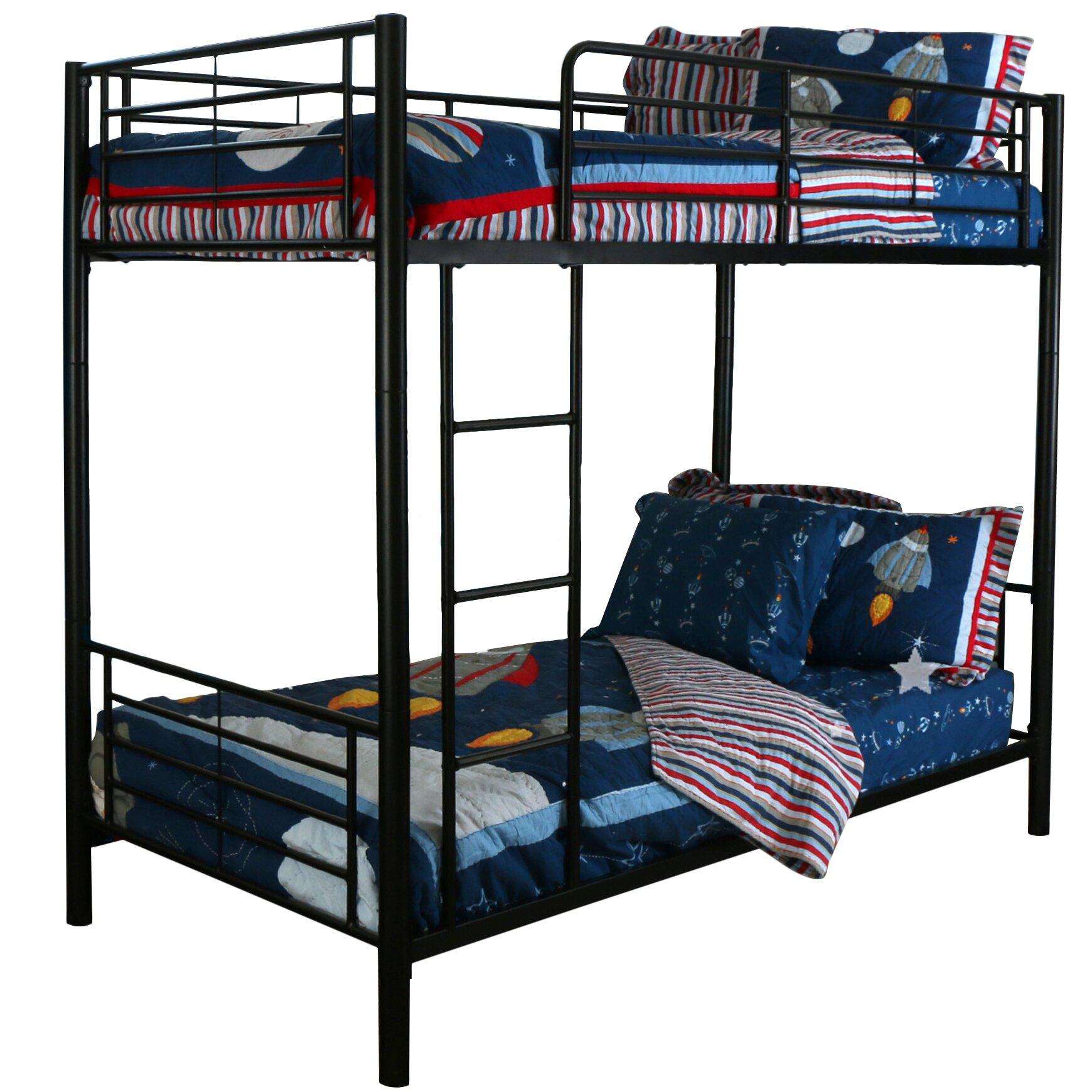 Home Loft Concepts Brady Twin Bunk Bed Reviews Wayfair