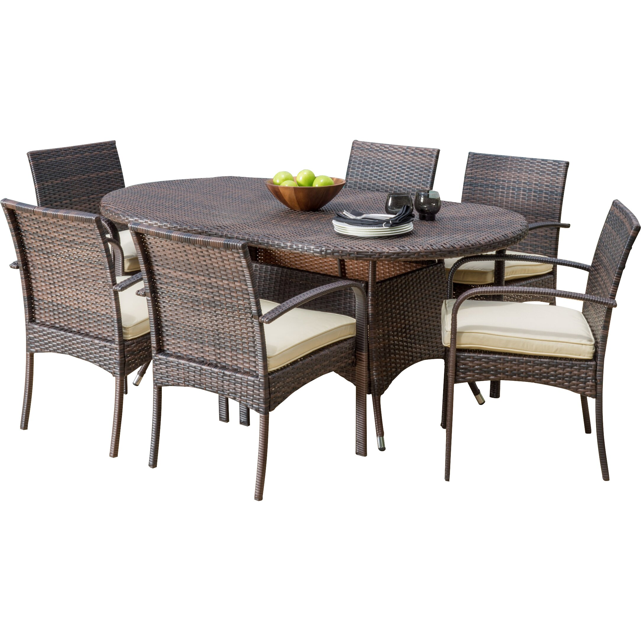 Home Loft Concepts Anthony 7 Piece Dining Set Reviews