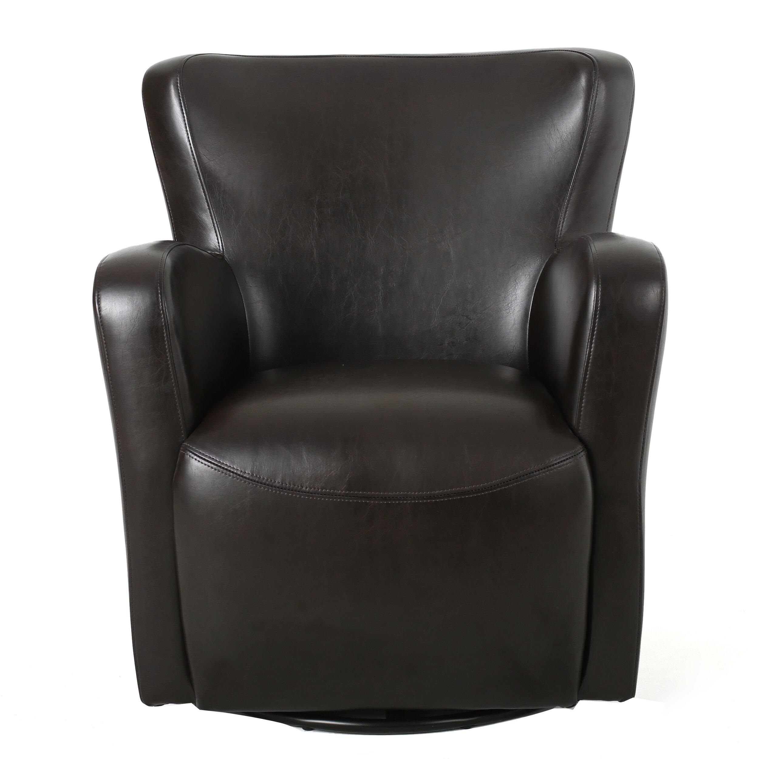 Home Loft Concepts Nikolas Swivel Club Chair Reviews